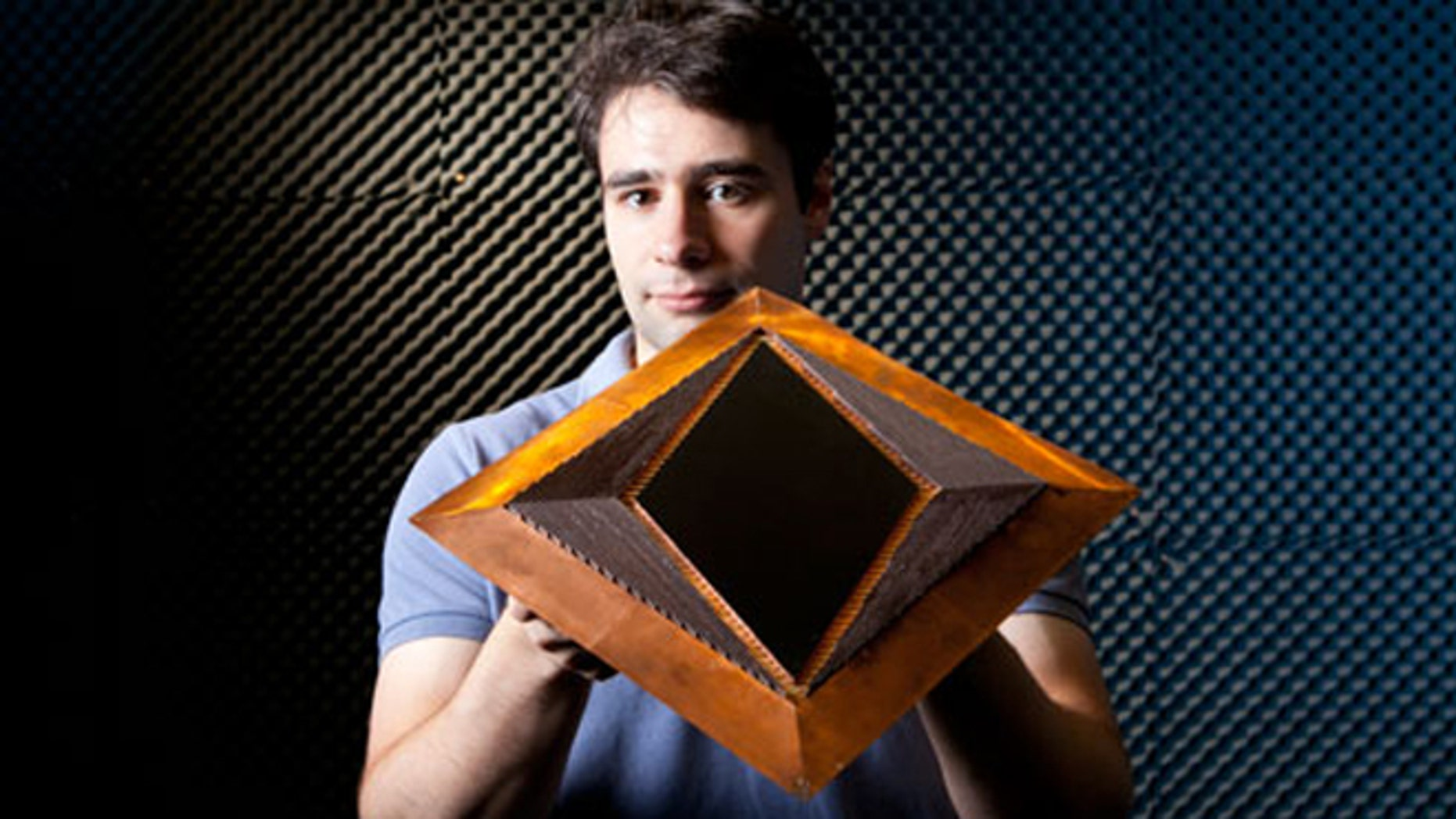 Nov. 12, 2012: A member of the lab at Duke University's Pratt School of Engineering has made a giant leap toward creating an invisibility cloak.