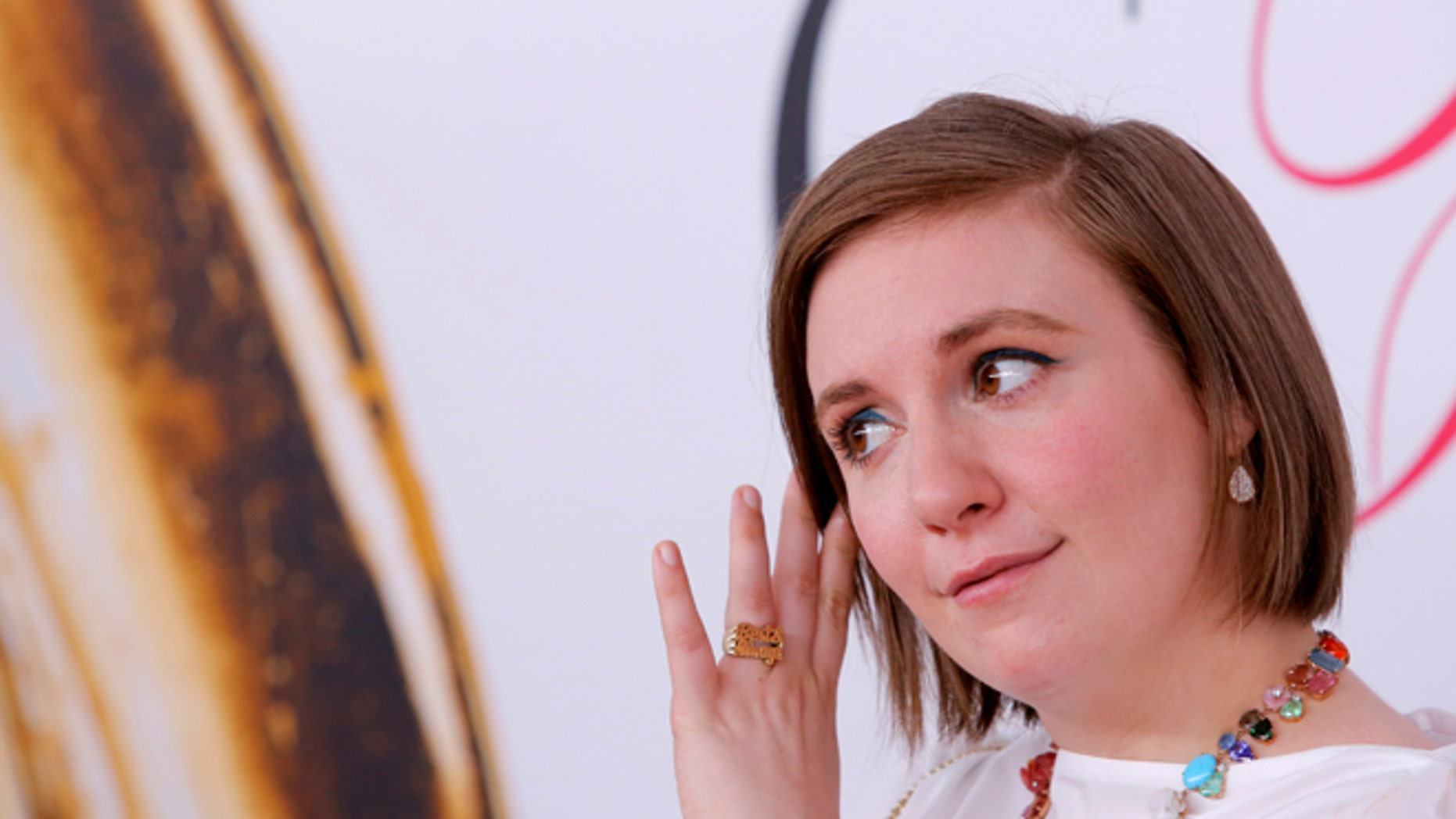 Lena Dunham posted an unusual photo for the holiday season.