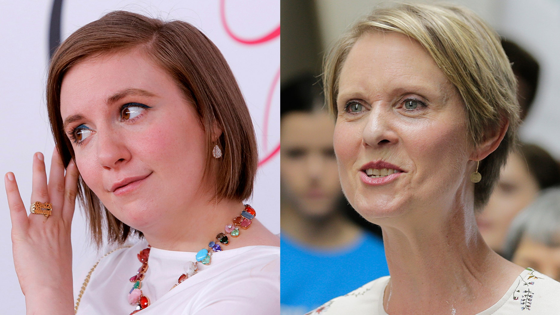 Lena Dunham shared on Instagram that she hosted a fundraiser for Cynthia Nixon's bid for governor.