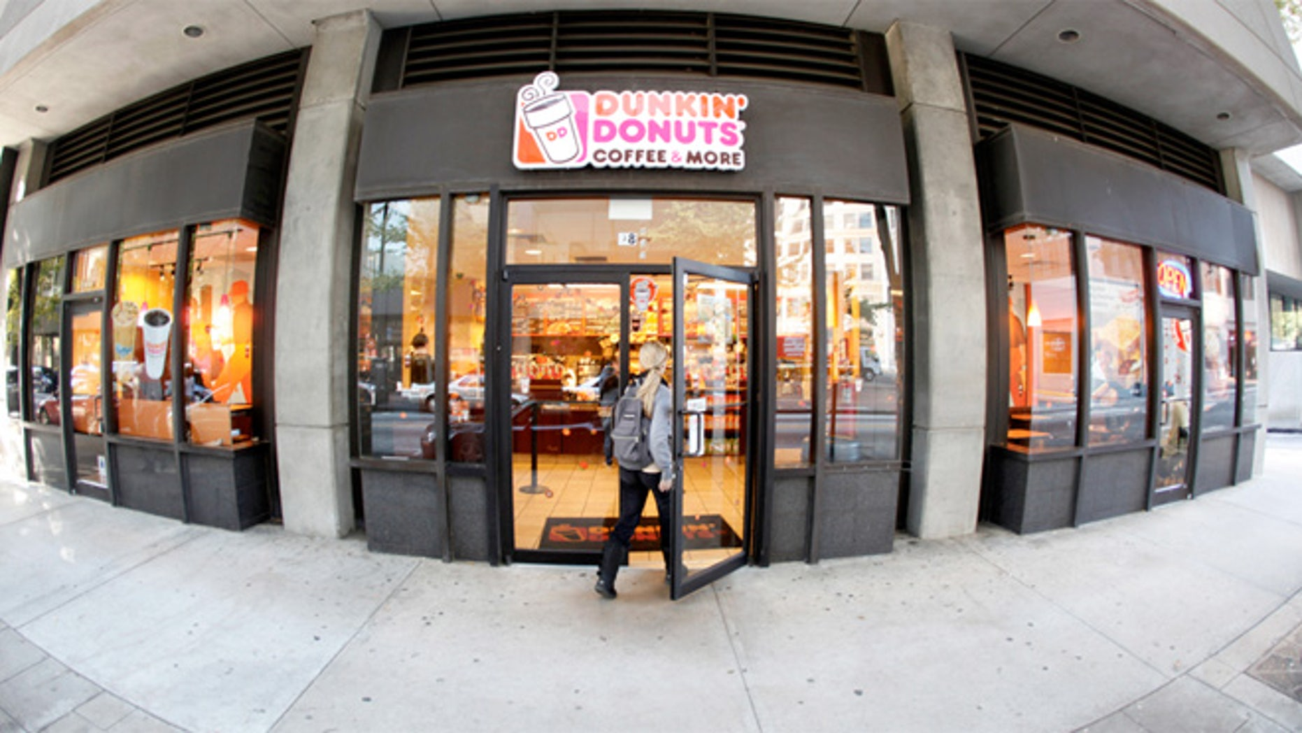 Dunkin' Donuts eventually wants 17,000 chains in the U.S., and 30,000 outlets around the world.