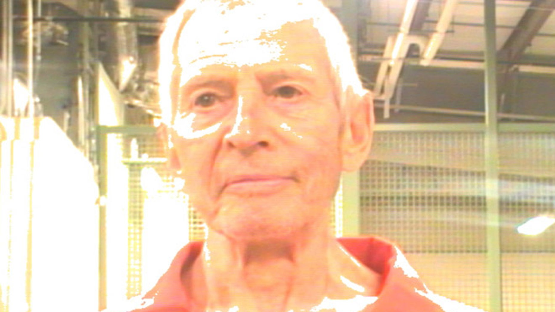 Robert Durst is pictured in this booking photo taken March 14, 2015 and provided by the Orleans Parish Sheriff's Office.