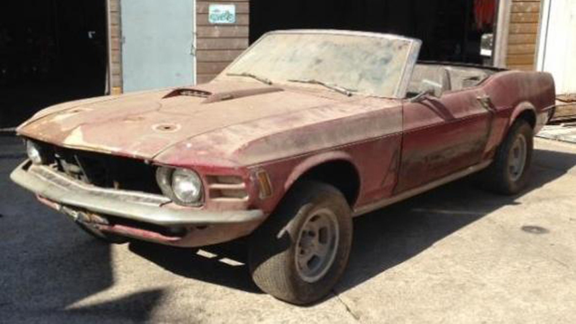 Rare 4x4 ford mustang surfaces in the netherlands fox news