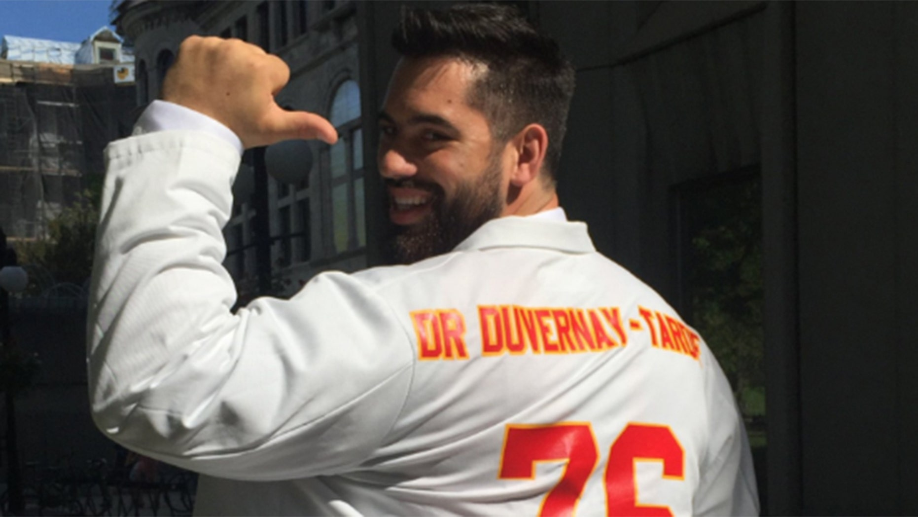 Duvernay-Tardif is now the first active NFL player to also hold a medical degree.