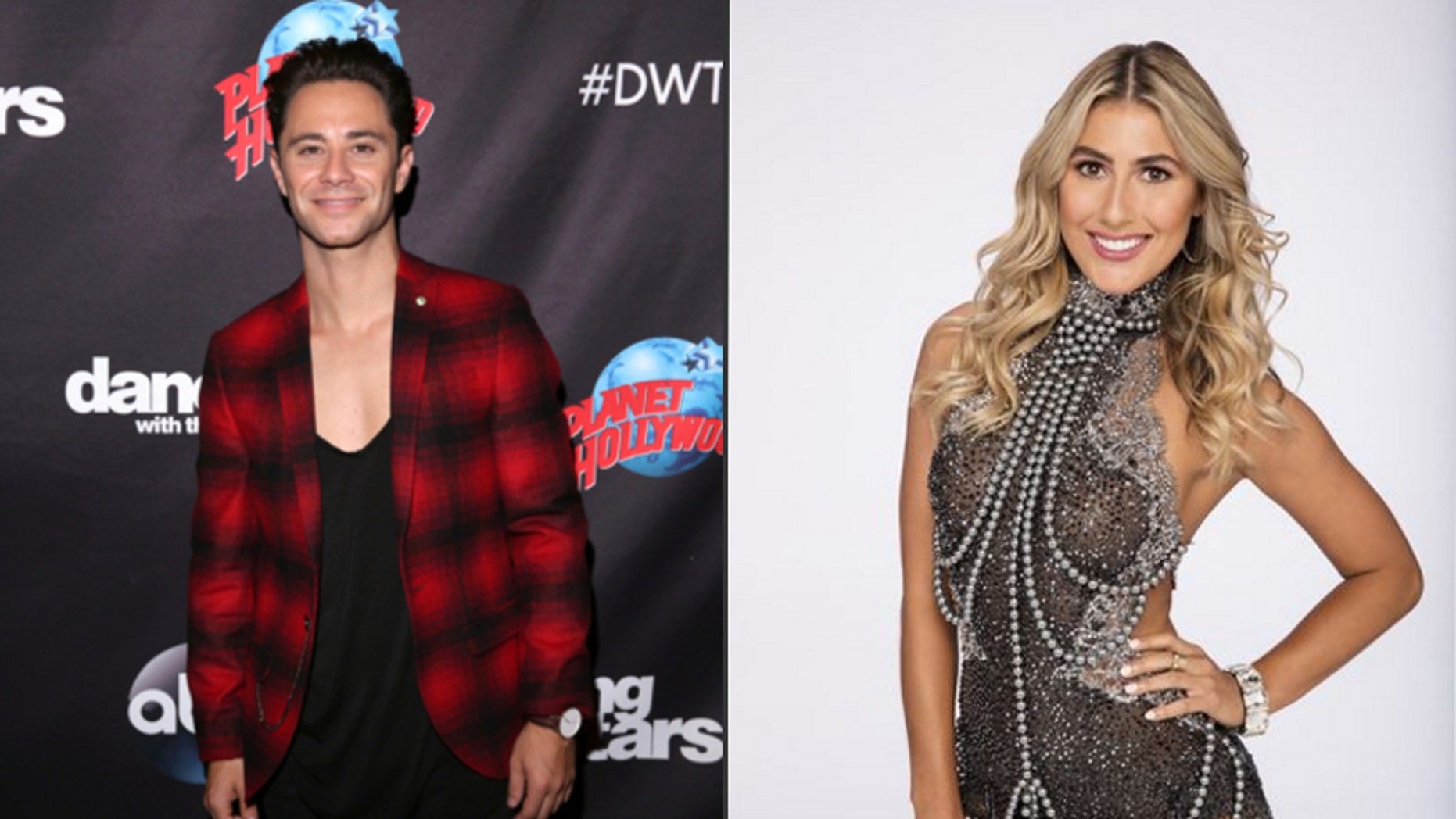 """Sasha Farber, left and Emma Slater of ABC's """"Dancing with the Stars."""""""