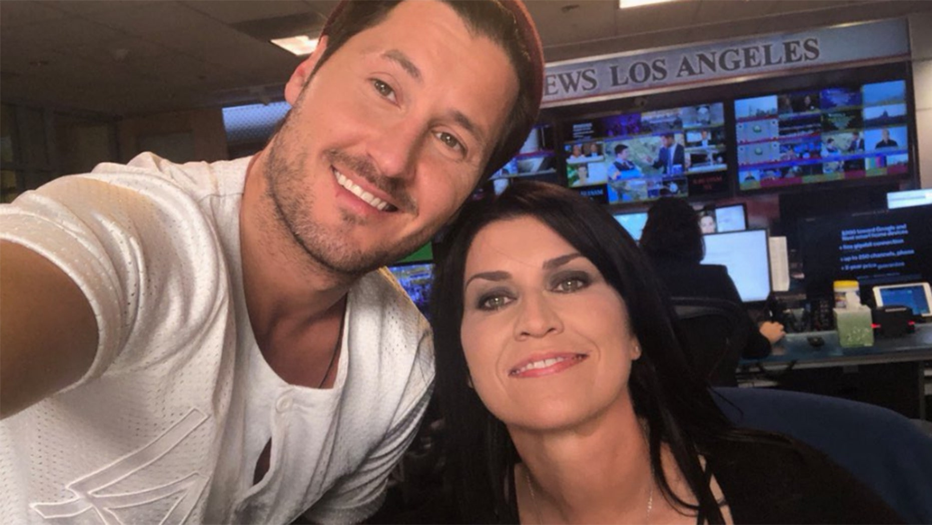 """Nancy McKeon, right, and Val Chmerkovskiy will compete on Season 27 of """"DWTS."""""""
