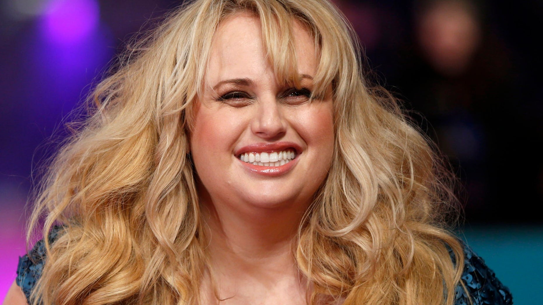 "Australian actress Rebel Wilson poses for photographers at the European premiere of the film ""How to be Single"" in London"