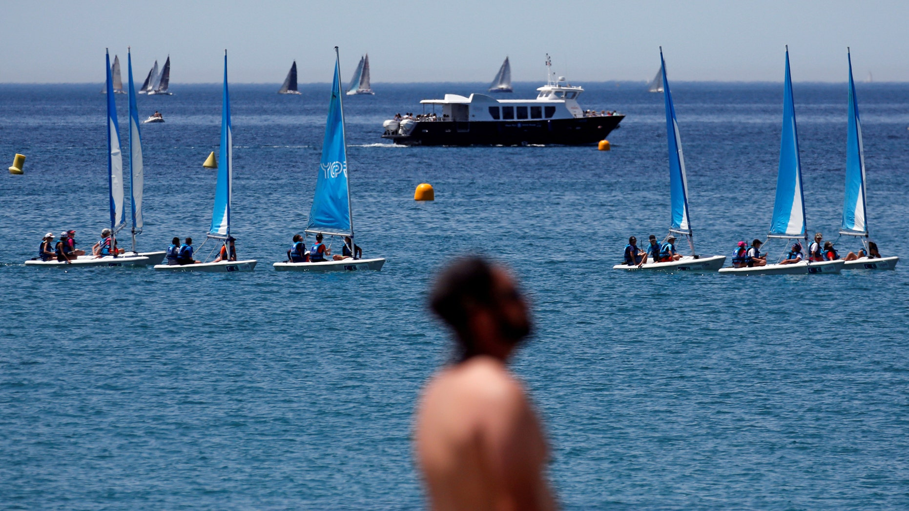 File photo: Boats sail off from Marseille's harbour, France, July 6, 2017. (REUTERS/Jean-Paul Pelissier)