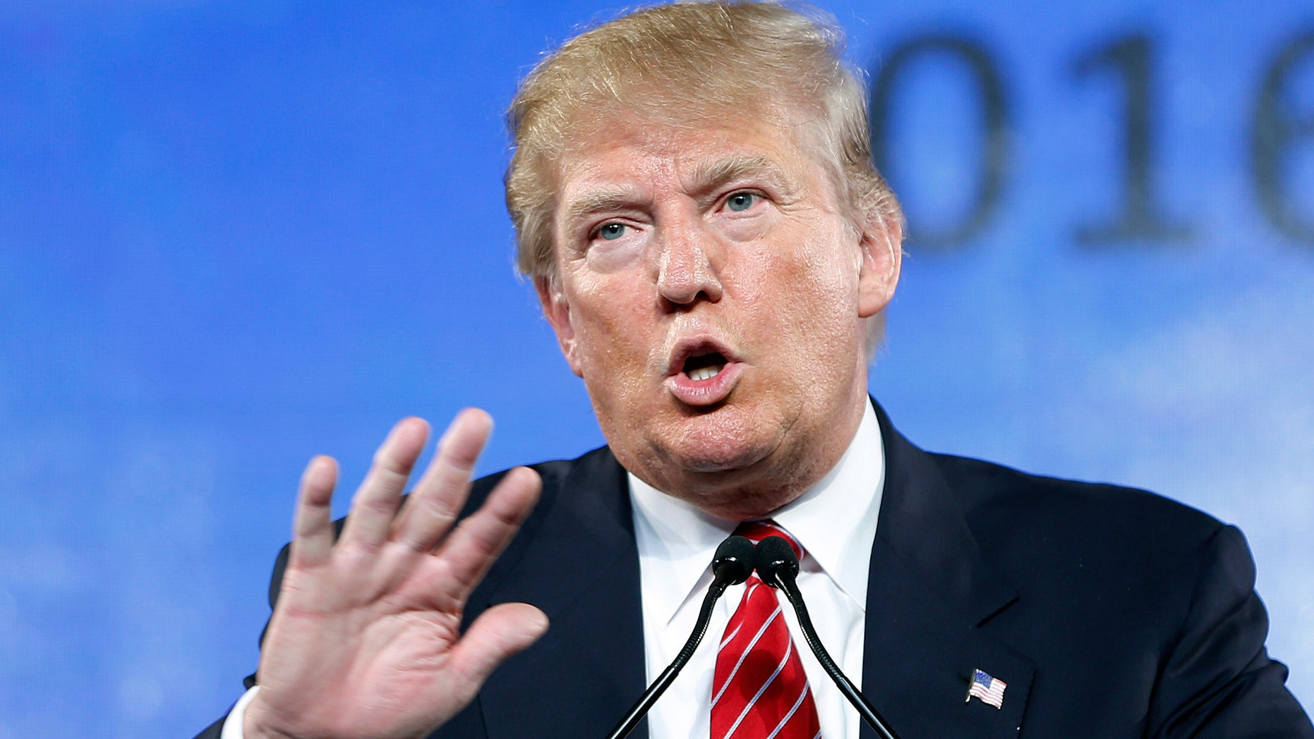 """FILE - In this July 11, 2015, file photo, Republican presidential candidate Donald Trump speaks at FreedomFest in Las Vegas. Trump criticized Sen. John McCain's military record at a conservative forum Saturday, saying the party's 2008 nominee and former prisoner of war was a """"war hero because he was captured. I like people who weren't captured."""" McCain spent 20 years in the Navy, a quarter of it in a Vietnamese prisoner of war camp after his jet was shot down over Hanoi during a bombing mission Oct. 26, 1967.  (AP Photo/John Locher, File)"""