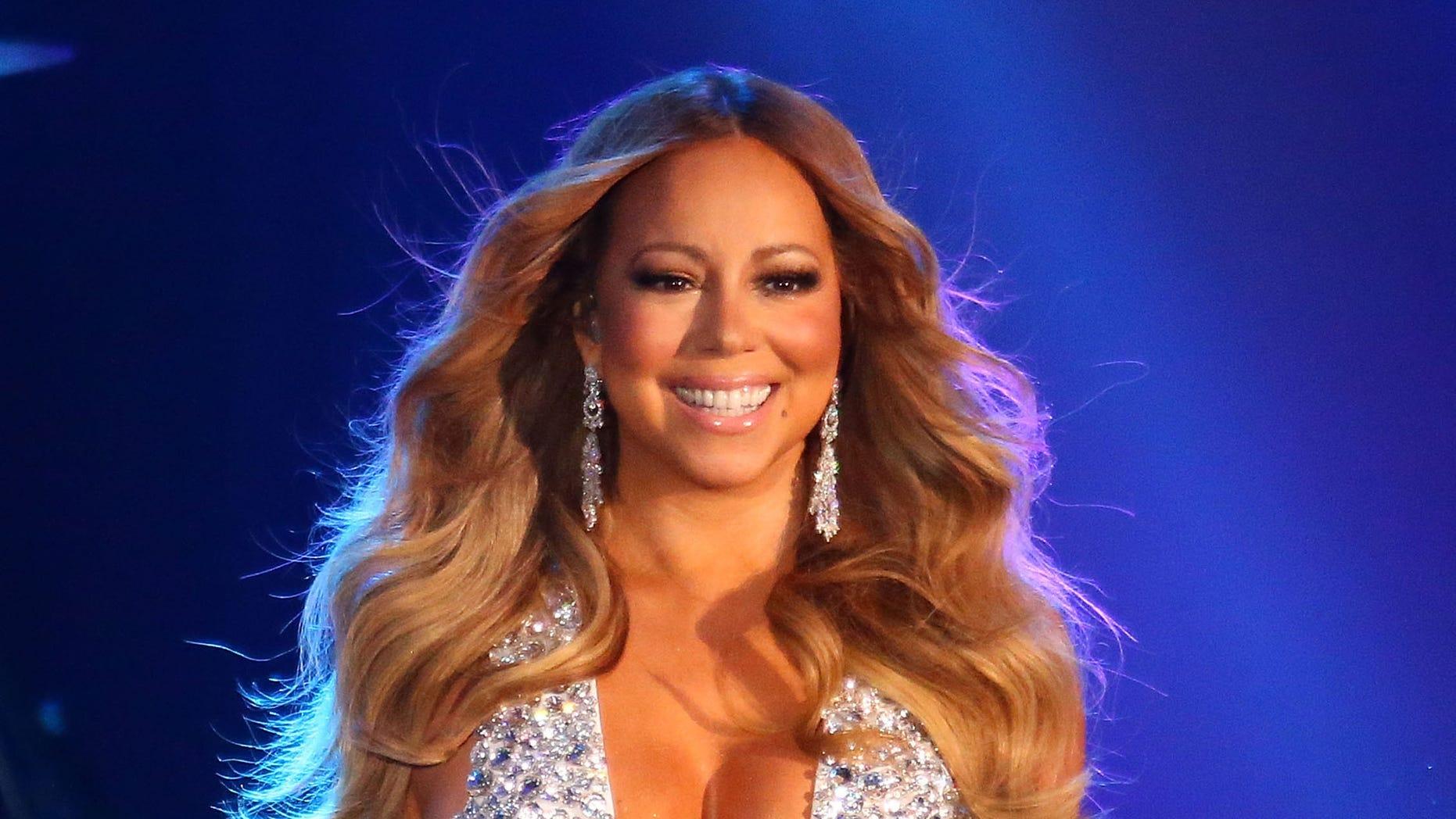 Mariah Carey on December 31, 2015 in Melbourne, Australia.