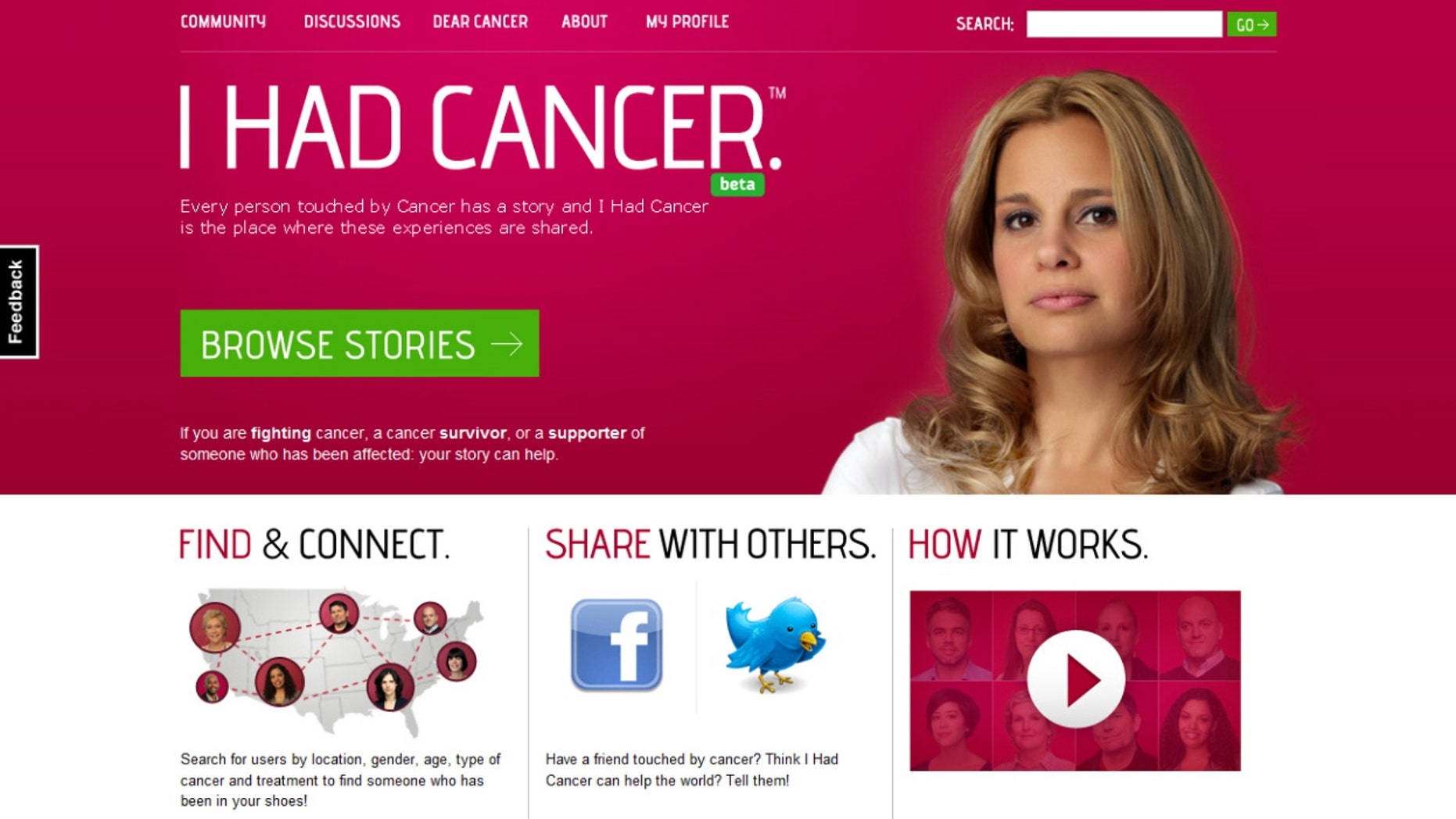"""Mailet Lopez, a 37-year-old Cuban-American, founded """"I Had Cancer,"""" an online social support network for cancer patients and their family and friends."""