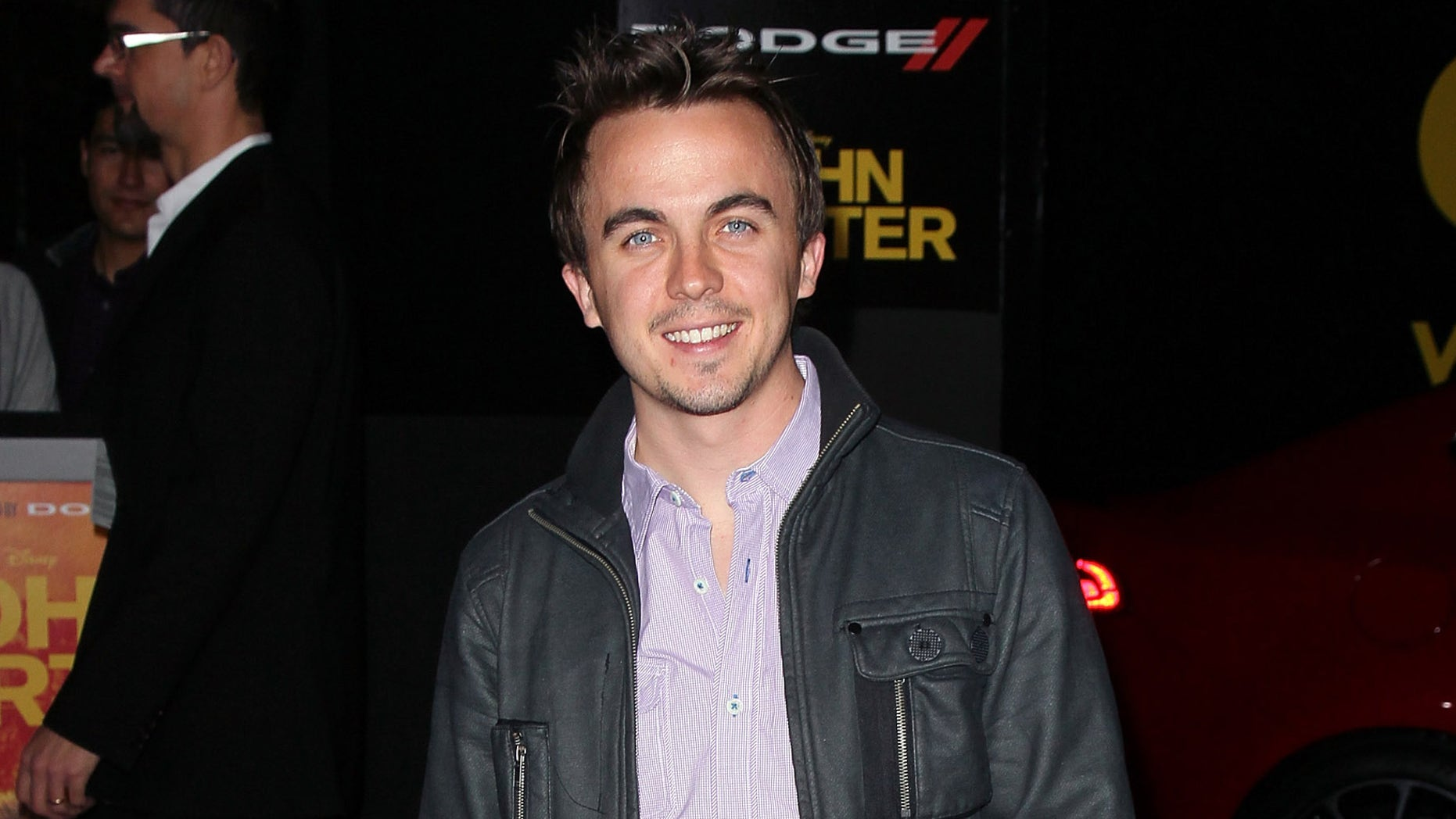 """LOS ANGELES, CA - FEBRUARY 22:  Actor Frankie Muniz attends the premiere of Walt Disney Pictures' """"John Carter"""" at Regal Cinemas L.A. Live on February 22, 2012 in Los Angeles, California.  (Photo by David Livingston/Getty Images)"""