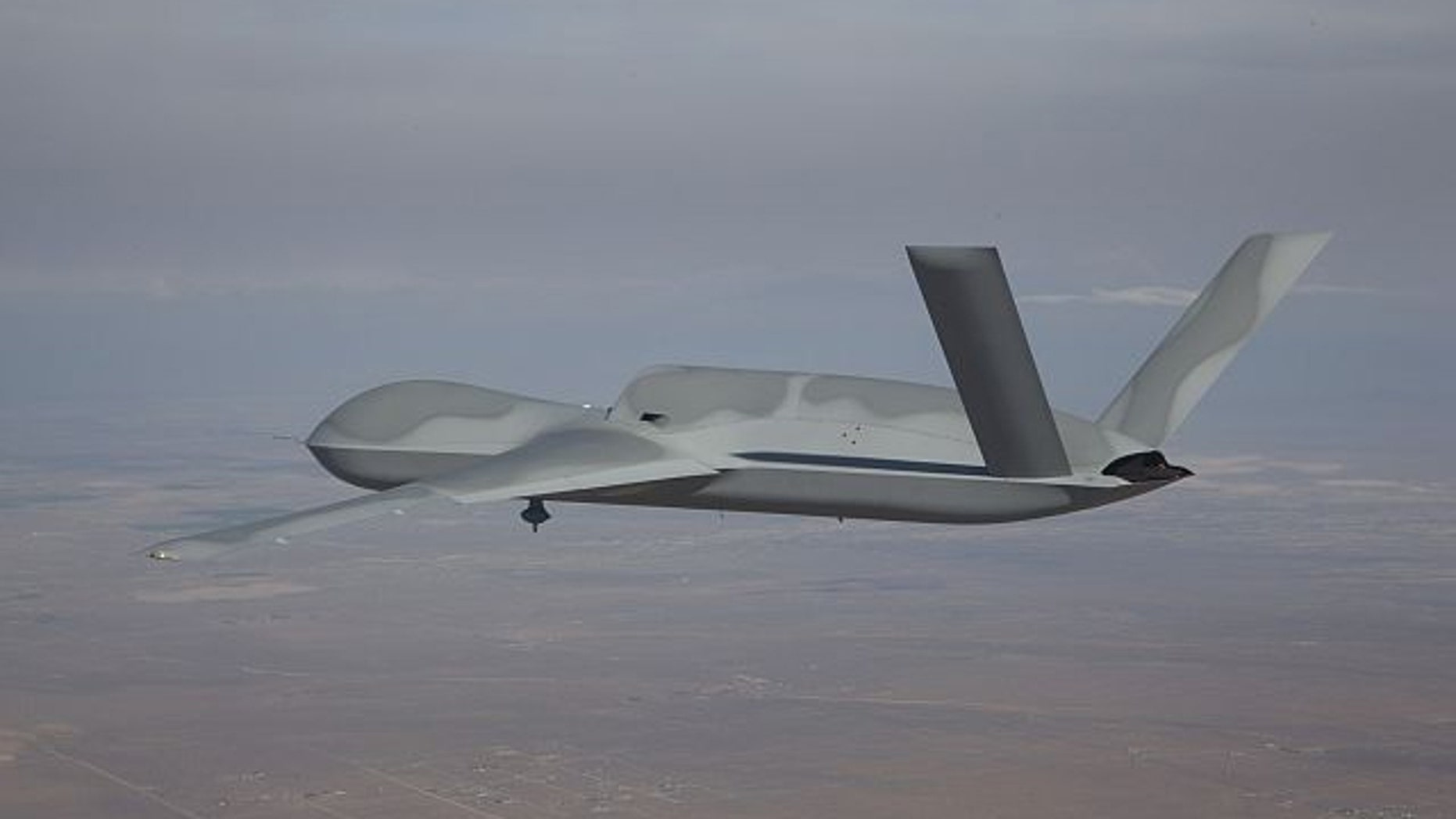 FILE: This photo shows an Air Force stealth drone called the Avenger.