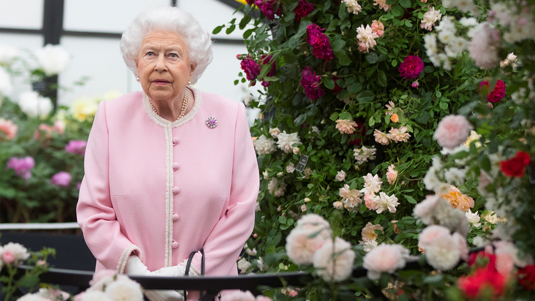 Britain's Queen Elizabeth II was seen wearing sunglasses at a number of recent public engagements.