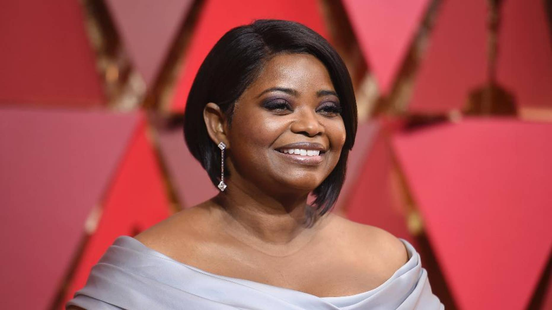 "FILE - In this Sunday, Feb. 26, 2017, file photo, Octavia Spencer arrives at the Oscars on at the Dolby Theatre in Los Angeles. Kent State University's first universitywide commencement May 13 will get a touch of Hollywood as Spencer speaks to graduates of the northeastern Ohio school. Spencer recently starred as mathematician Dorothy Vaughan in the drama ""Hidden Figures."" (Photo by Richard Shotwell/Invision/AP, File)"