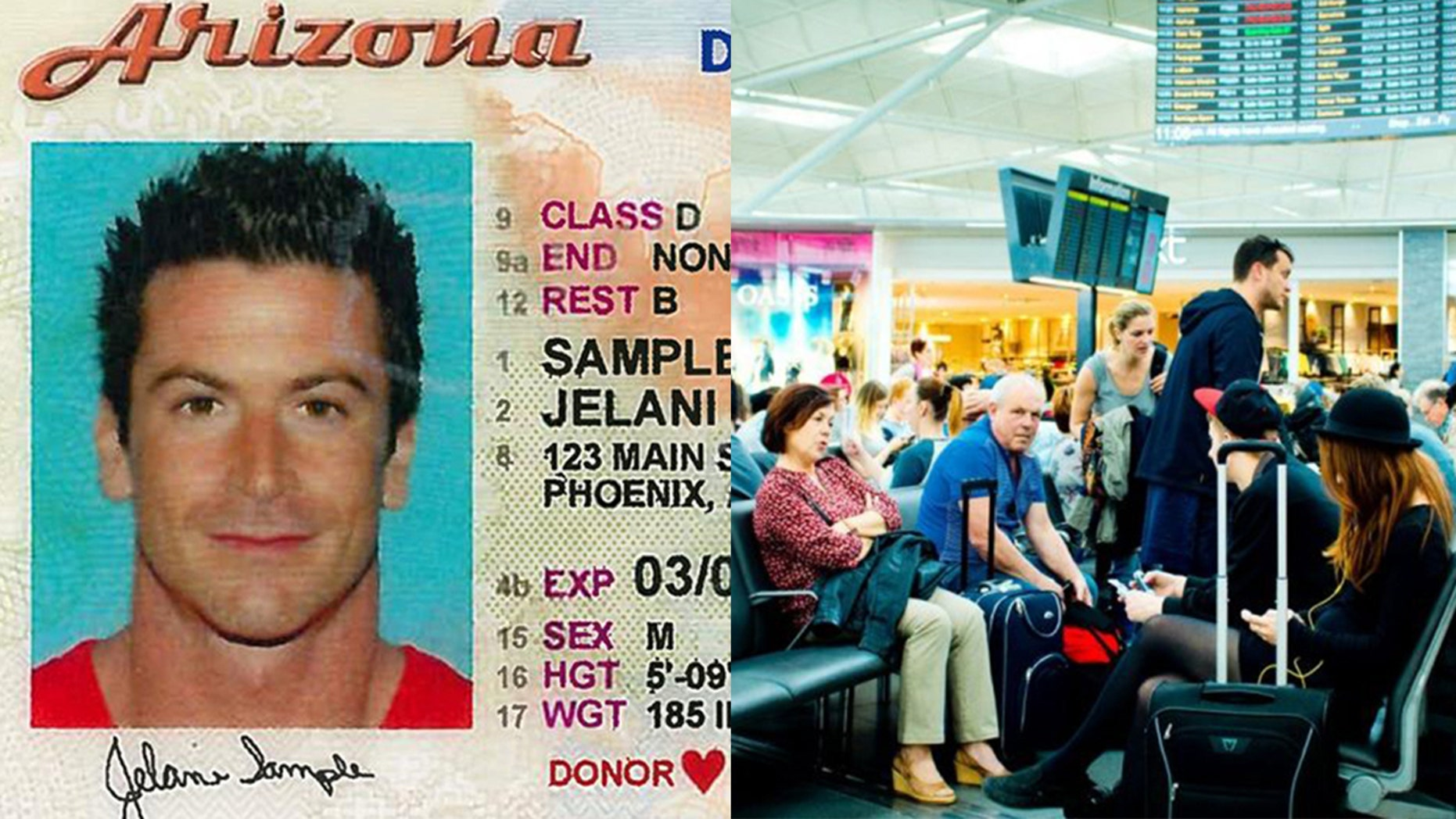 A new law to take effect in October 2020 will mandate that Arizona residents traveling by air carry a Voluntary Travel ID.