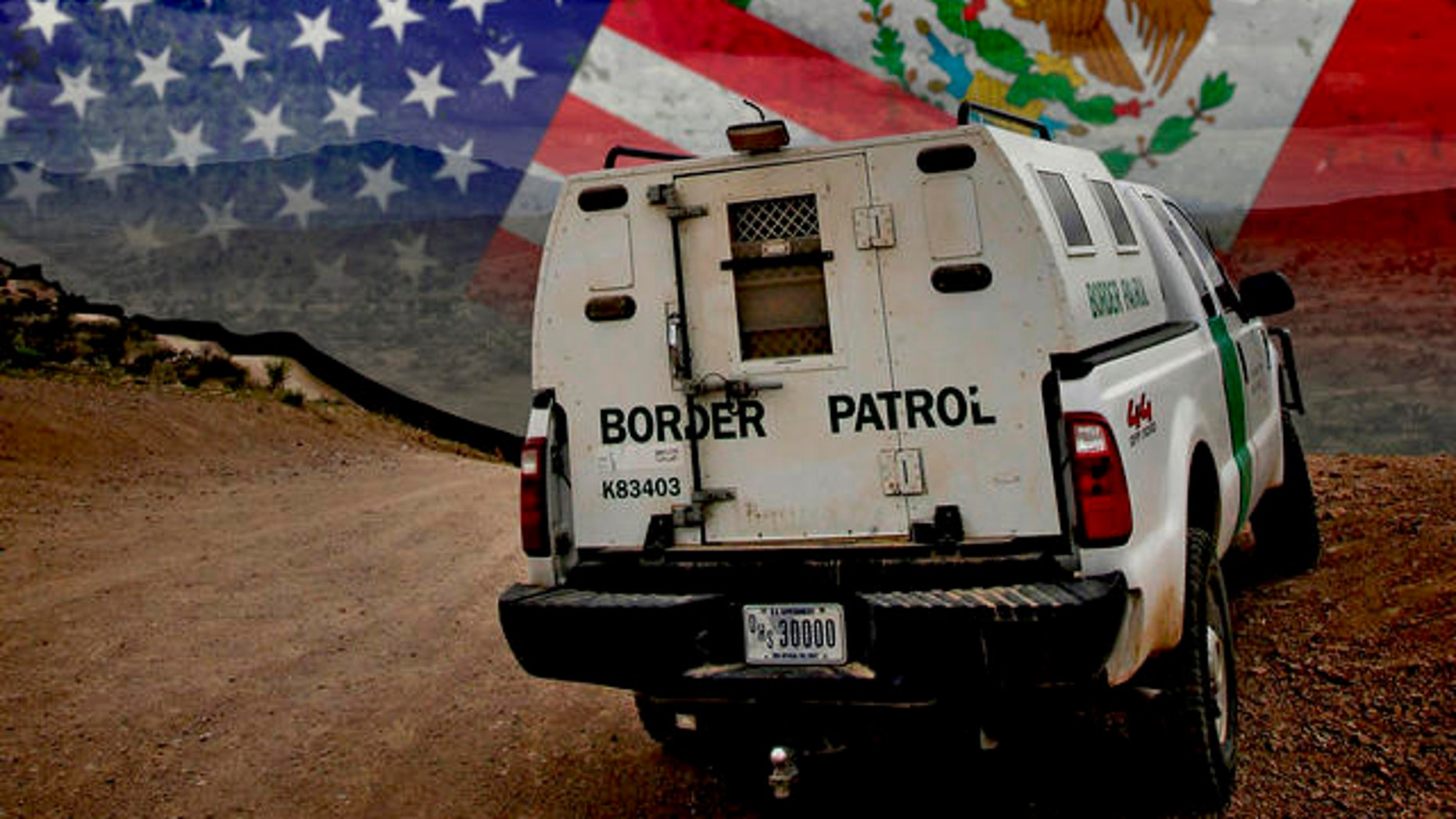 A Customs and Border Patrol agent patrols along the international border in Nogales, Ariz. Thursday, April 22, 2010. Illegal immigration and border security are heating up as issues after the slaying of a border-area rancher and imminent passage of state legislation to crack down on illegal immigration.  (AP Photo/Matt York)