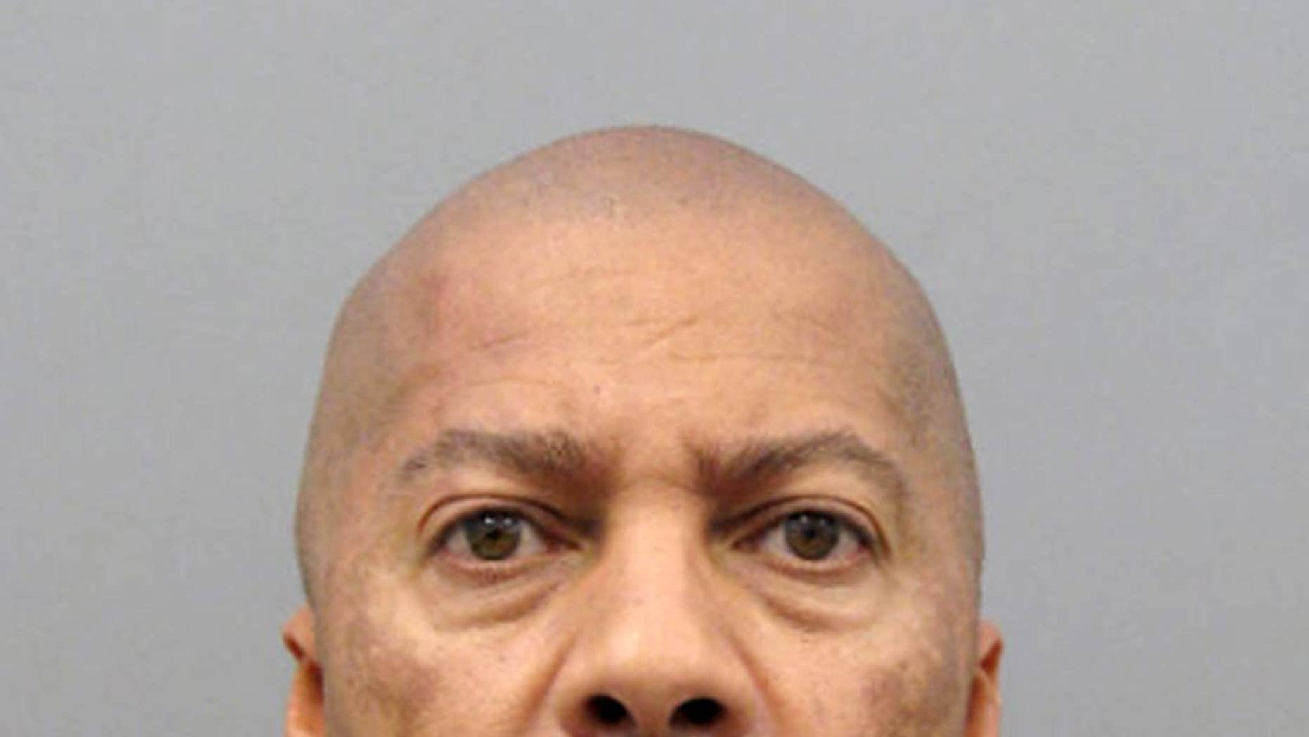 This undated law enforcement booking photo provided by the Henderson, Nev., Police Department shows Otis Holland. Alleged victims have said Holland, former church pastor, now 59, sexually abused them in vehicles including a limousine fitted with a bed, or at his home. After years of delay after his 2012 capture in Tijuana, Mexico, trial is set to begin Monday, Jan. 4, 2016 in Las Vegas. (Henderson Police Department via AP)