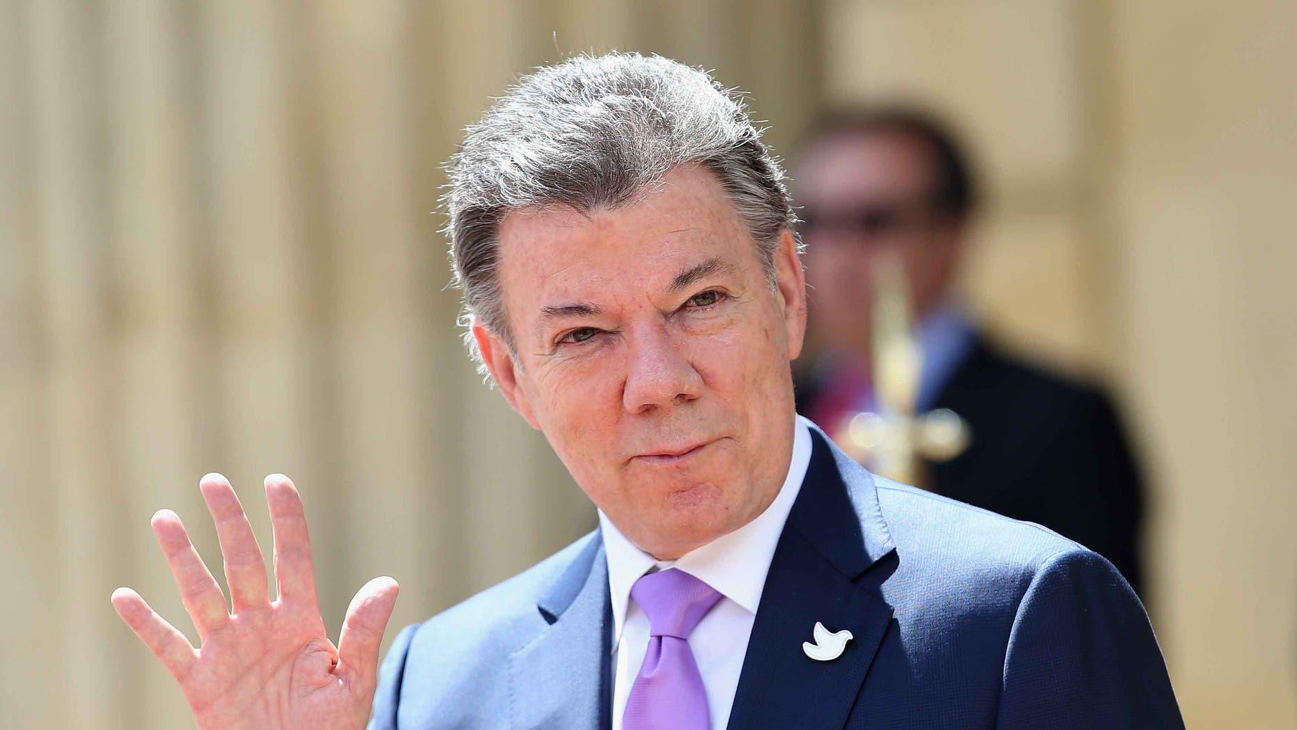 President of Colombia Juan Manuel Santos.