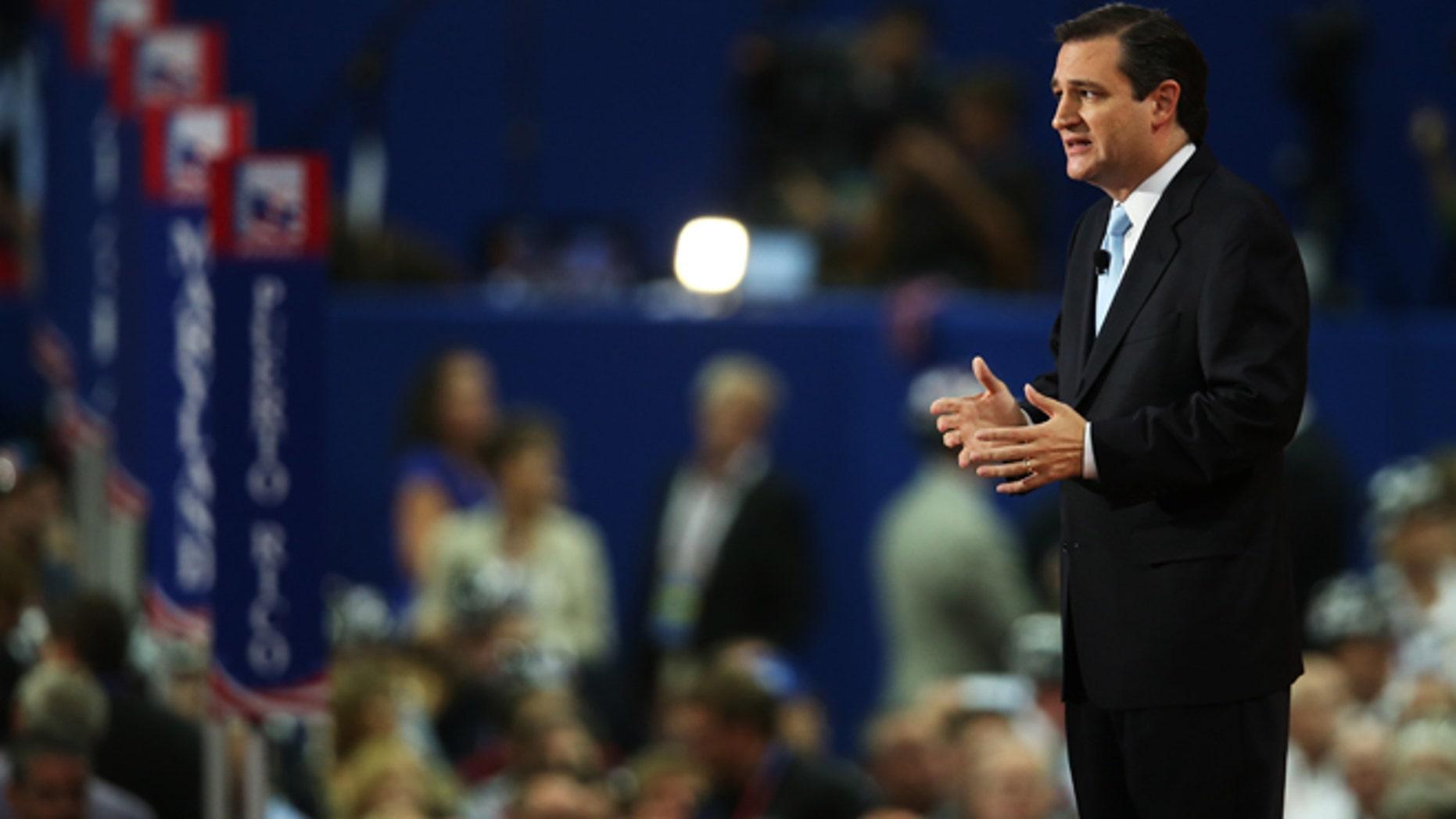 Senator Ted Cruz (Photo by Scott Olson/Getty Images)