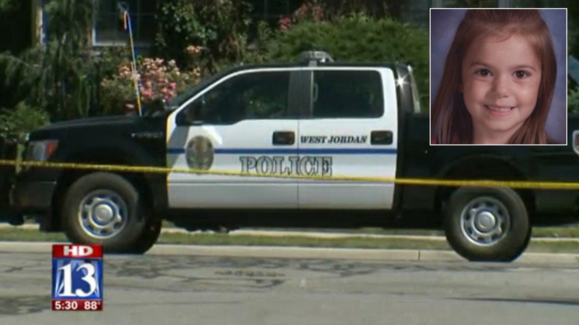The crime scene where Sierra Newbold disappeared.