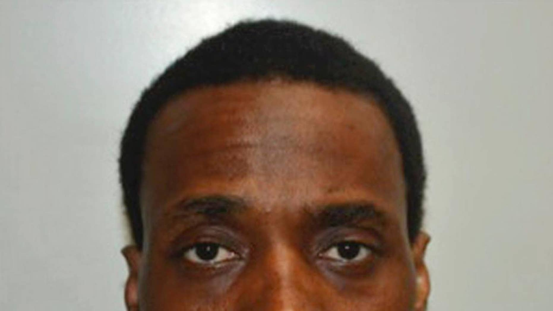 FILE - This undated photo provided by the Fresno Police Department shows Kori Ali Muhammad a suspect in the Fresno, Calif., shooting on Tuesday, April 18, 2017. The attorney for a black man charged with multiple counts of first-degree murder following a shooting rampage randomly targeting white men on the streets of Fresno said Thursday, April 27, 2017, that his client suffers from mental illness. (Fresno Police Department via AP, File)
