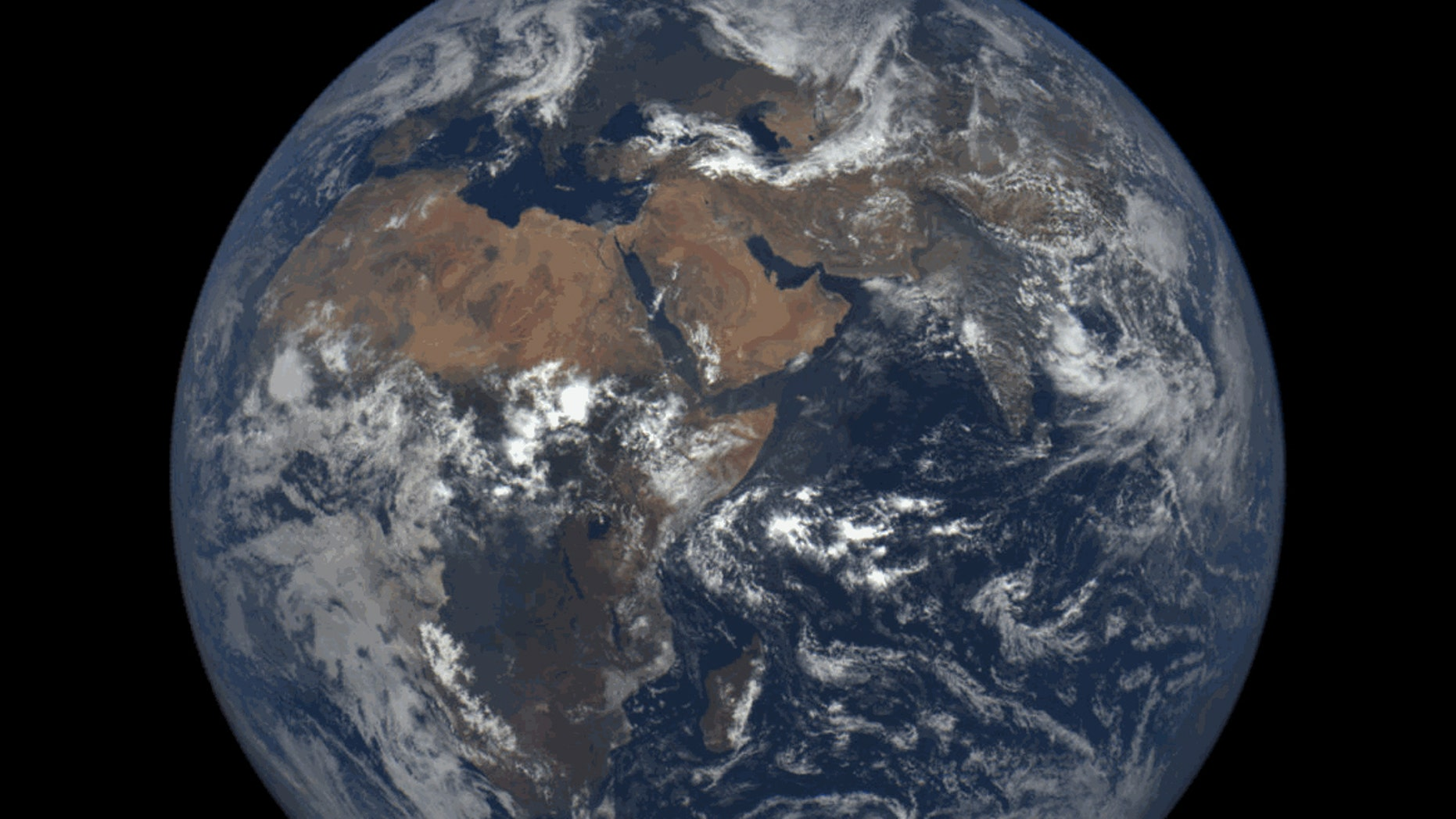 Our Spherical Earth Image