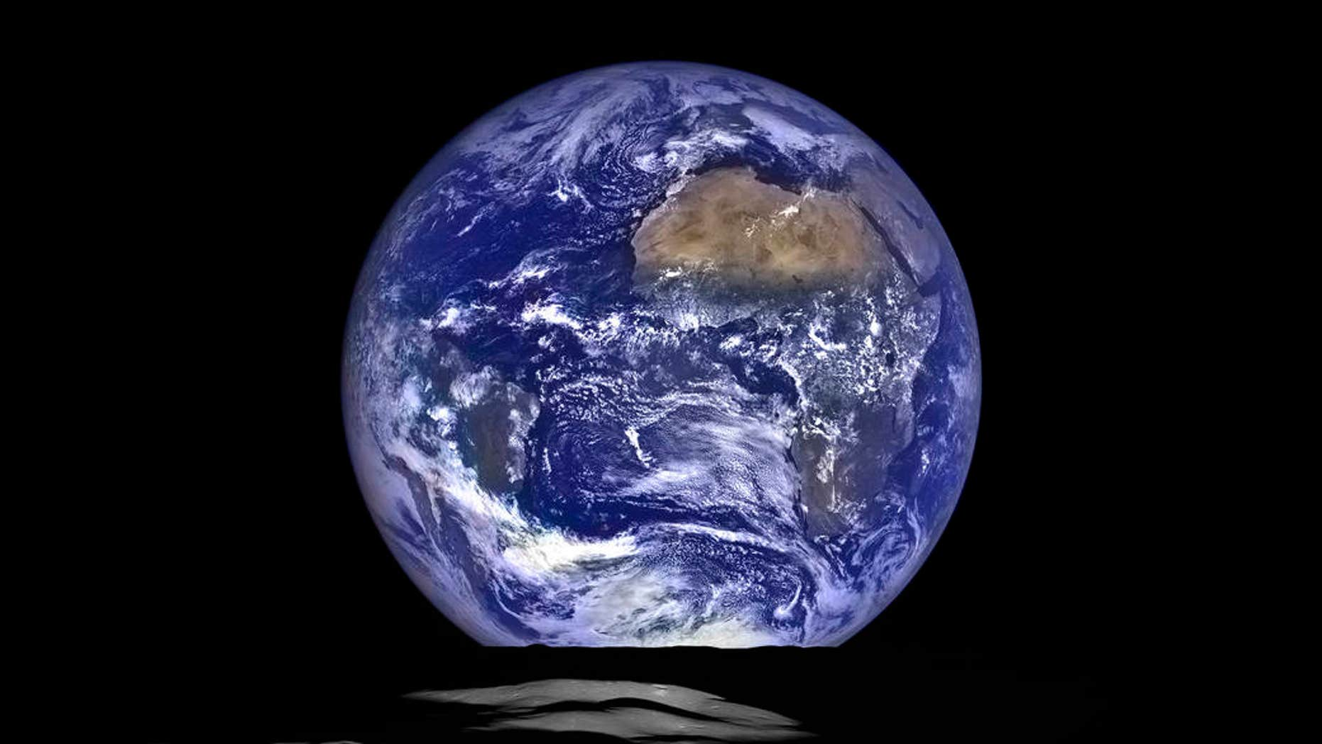 This gorgeous photo of Earth with the moon in the foreground was captured on Oct. 12, 2015, by NASA's Lunar Reconnaissance Orbiter spacecraft.