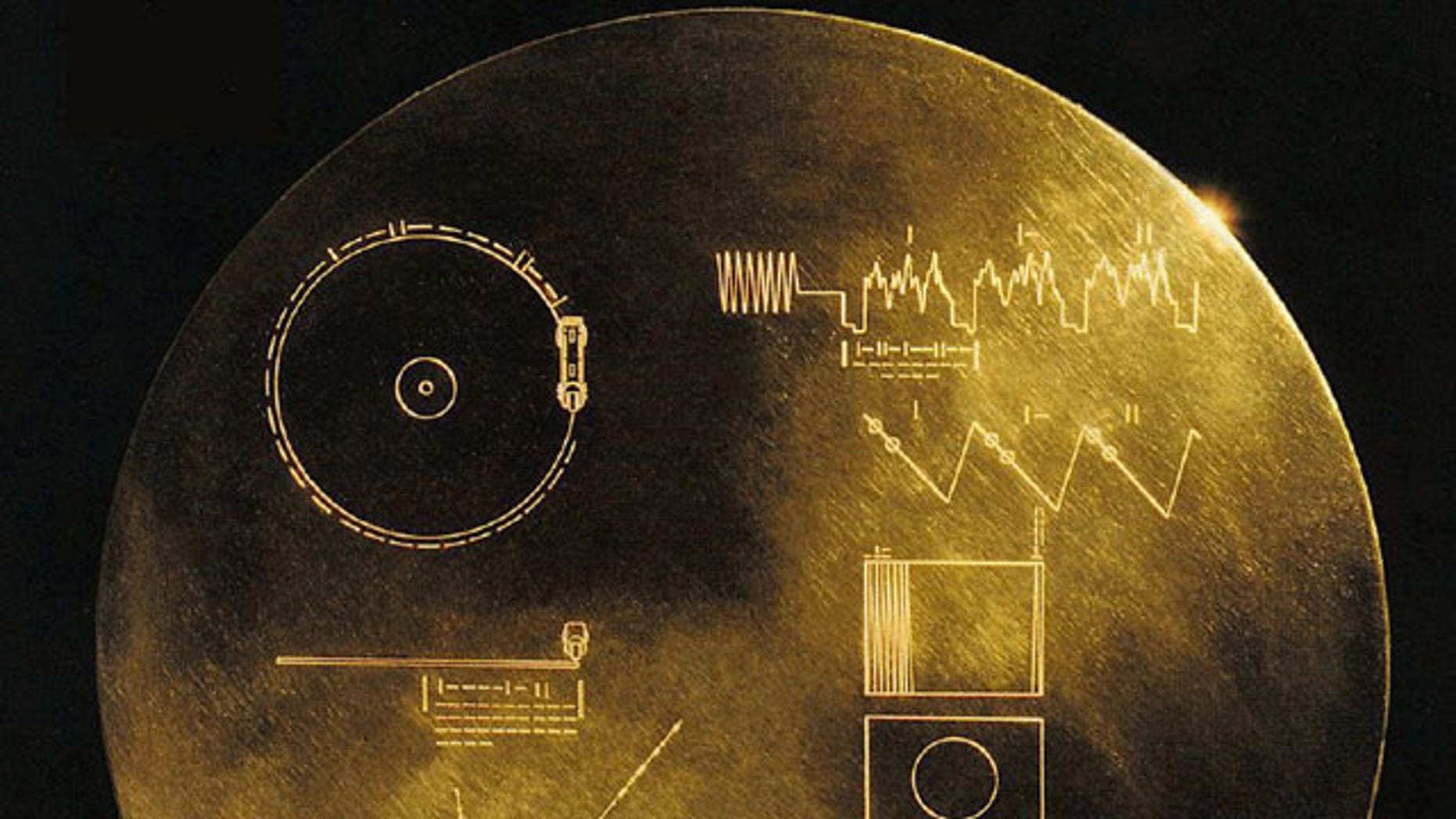 In 1977 NASA's Voyager 1 and 2 spacecraft launched into space carrying phonographs called the Golden Records containing pictures and sounds meant to show extraterrestrials a glimpse of life on Earth.