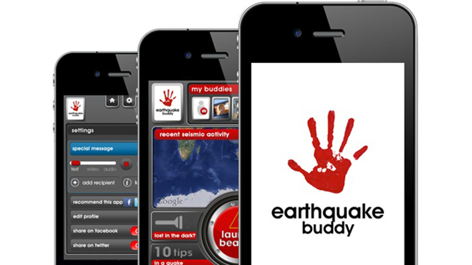 The Earthquake Buddy app will pinpoint your location as soon as an earthquake over magnitude  a 5.5 strikes.