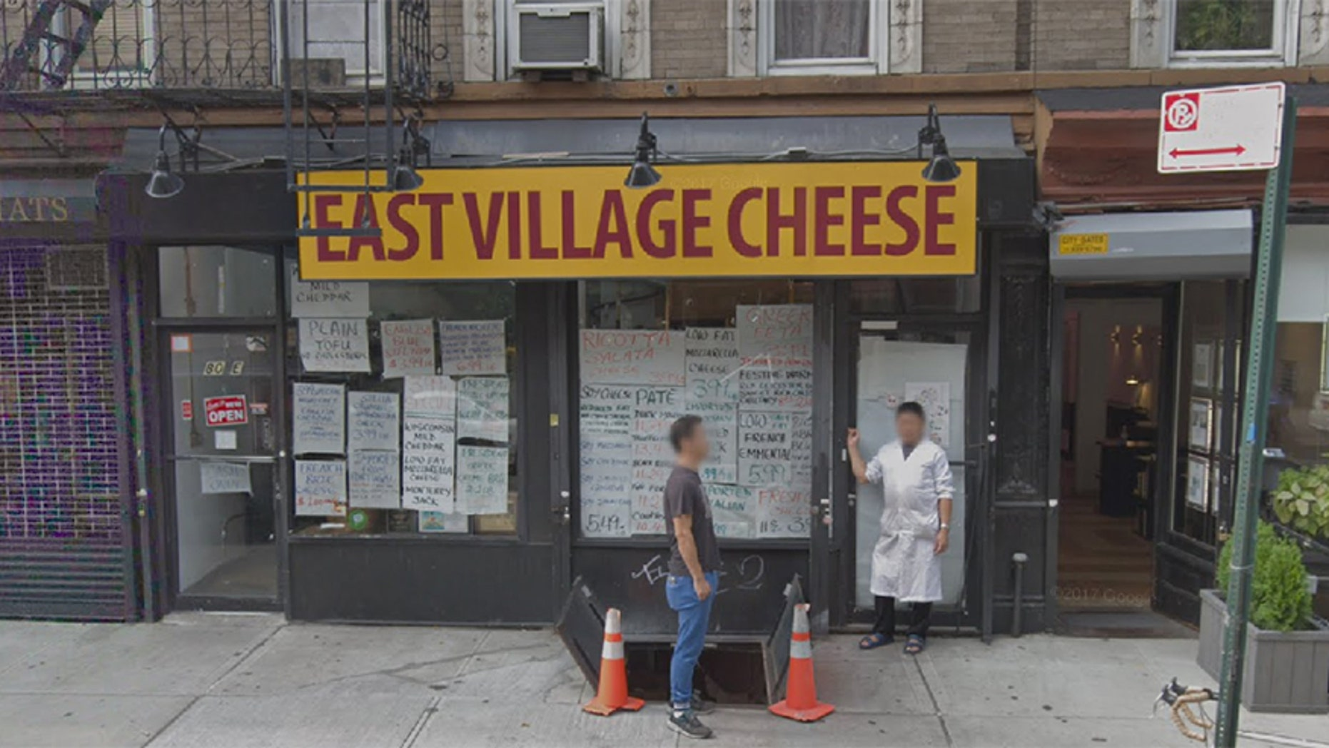 Neighbors say the East Village Cheese shop in New York City is starting to smell after being closed for more than two weeks.