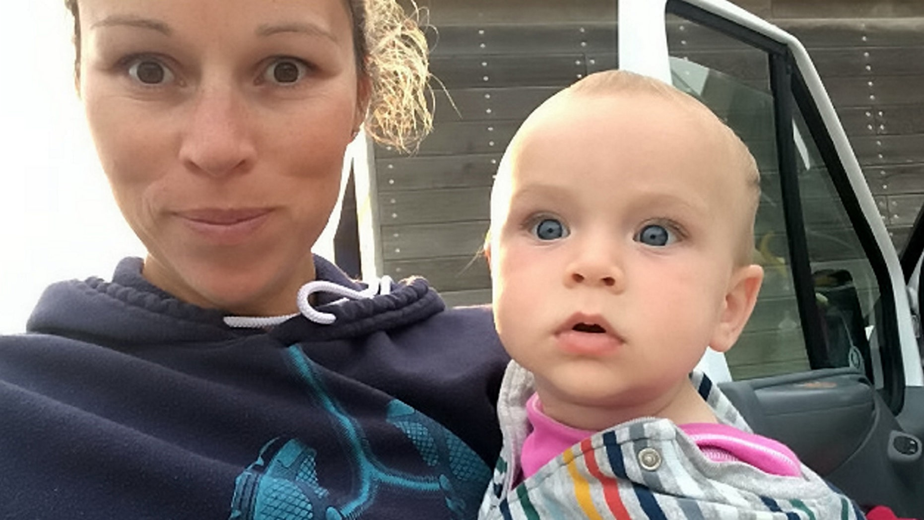 Kelly Edgson-Payne, 36, says she was left in tears after a crew member asked her to refrain from breastfeeding during takeoff, even though she claims she's never had an issue before.
