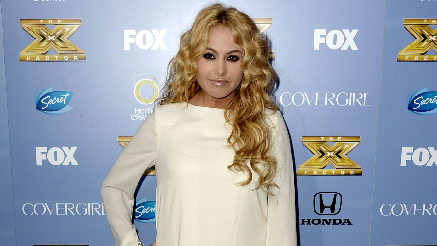 Paulina Rubio in a 2013 file photo.