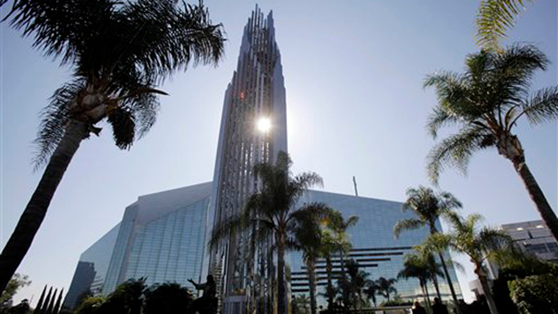 This Oct. 27, 2011 photo shows the Crystal Cathedral in Garden Grove, Calif.