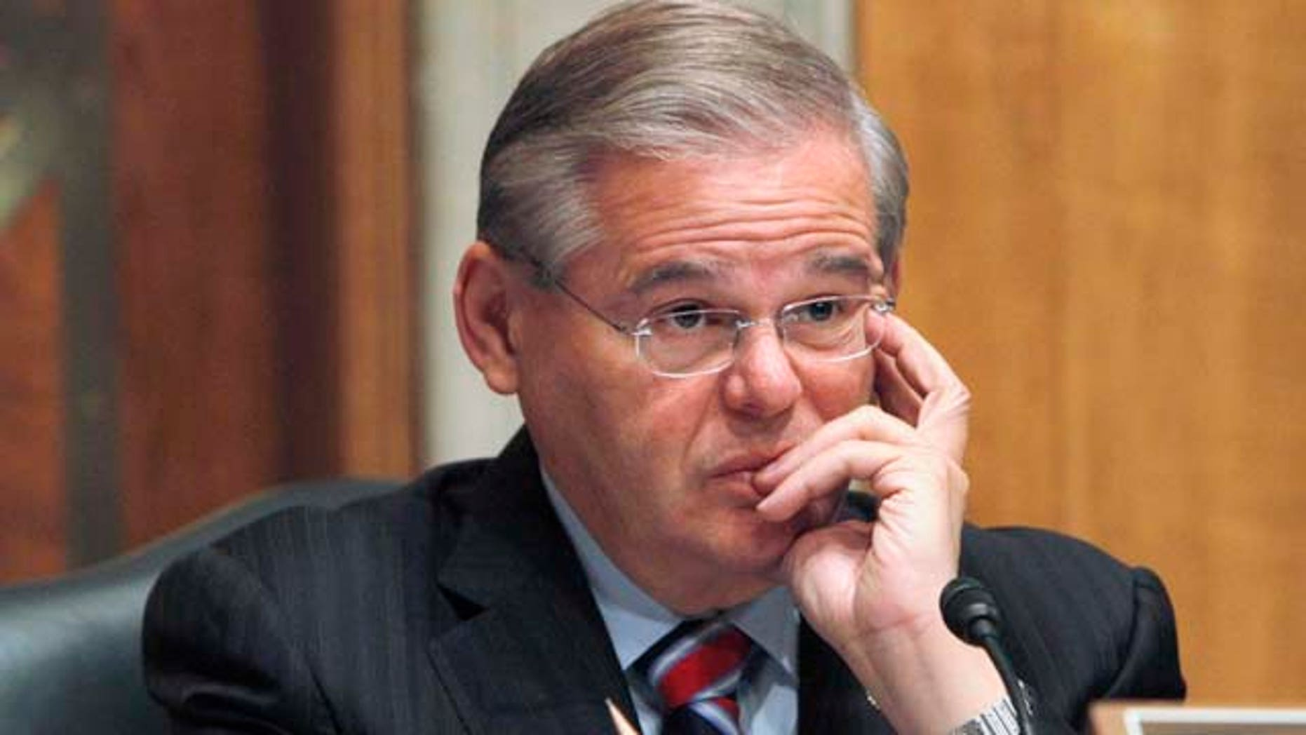 Sen. Robert Menendez, New Jersey Democrat