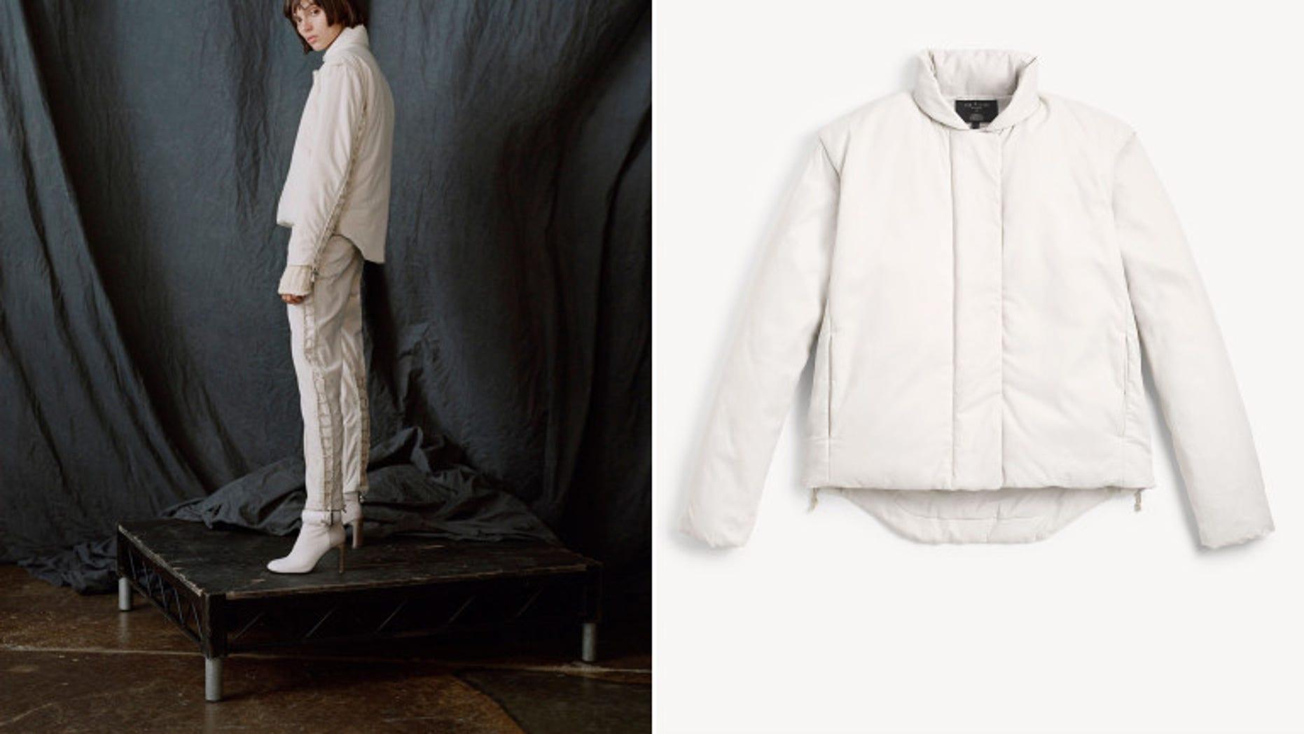"The new ""Echo"" jacket."