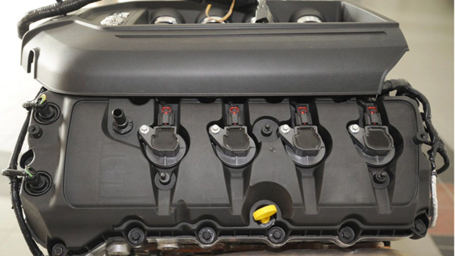 Ford Mustang 5.0-Liter Engine With EcoLon Valve Covers