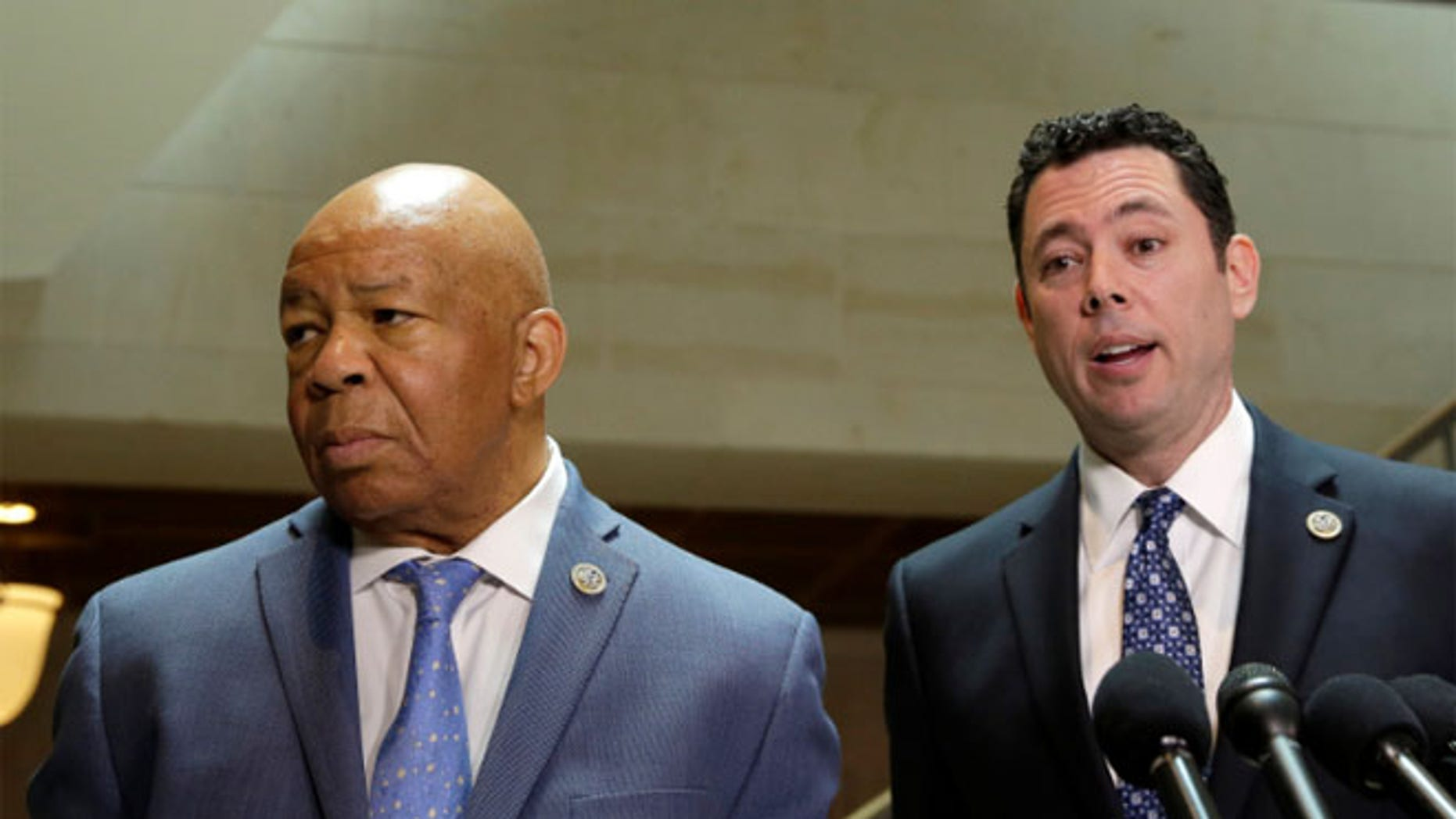 Reps. Jason Chaffetz, R, and Elijah Cummings said they saw no evidence that Flynn, a retired Army lieutenant general, properly disclosed foreign payments he received to military officials or on his security clearance paperwork.