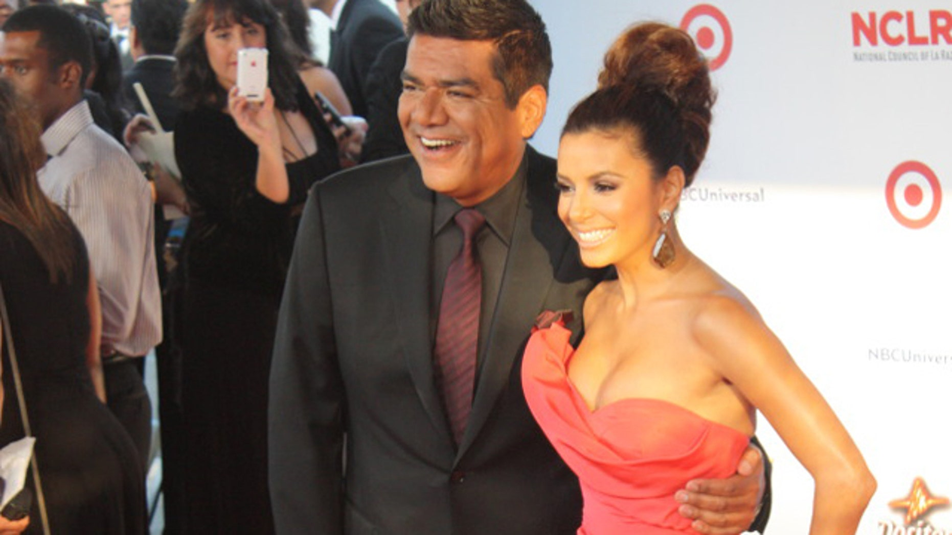 Sep. 10: George Lopez and Eva Longoria are on the red carpet before the ALMA Awards Saturday night.
