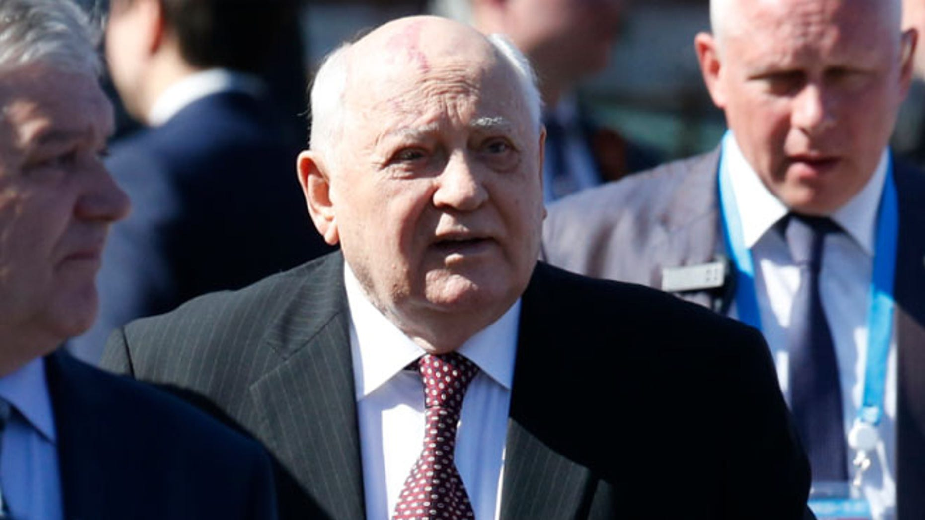 Former Soviet president Gorbachev issued a warning in Time magazine about the state of international politics.