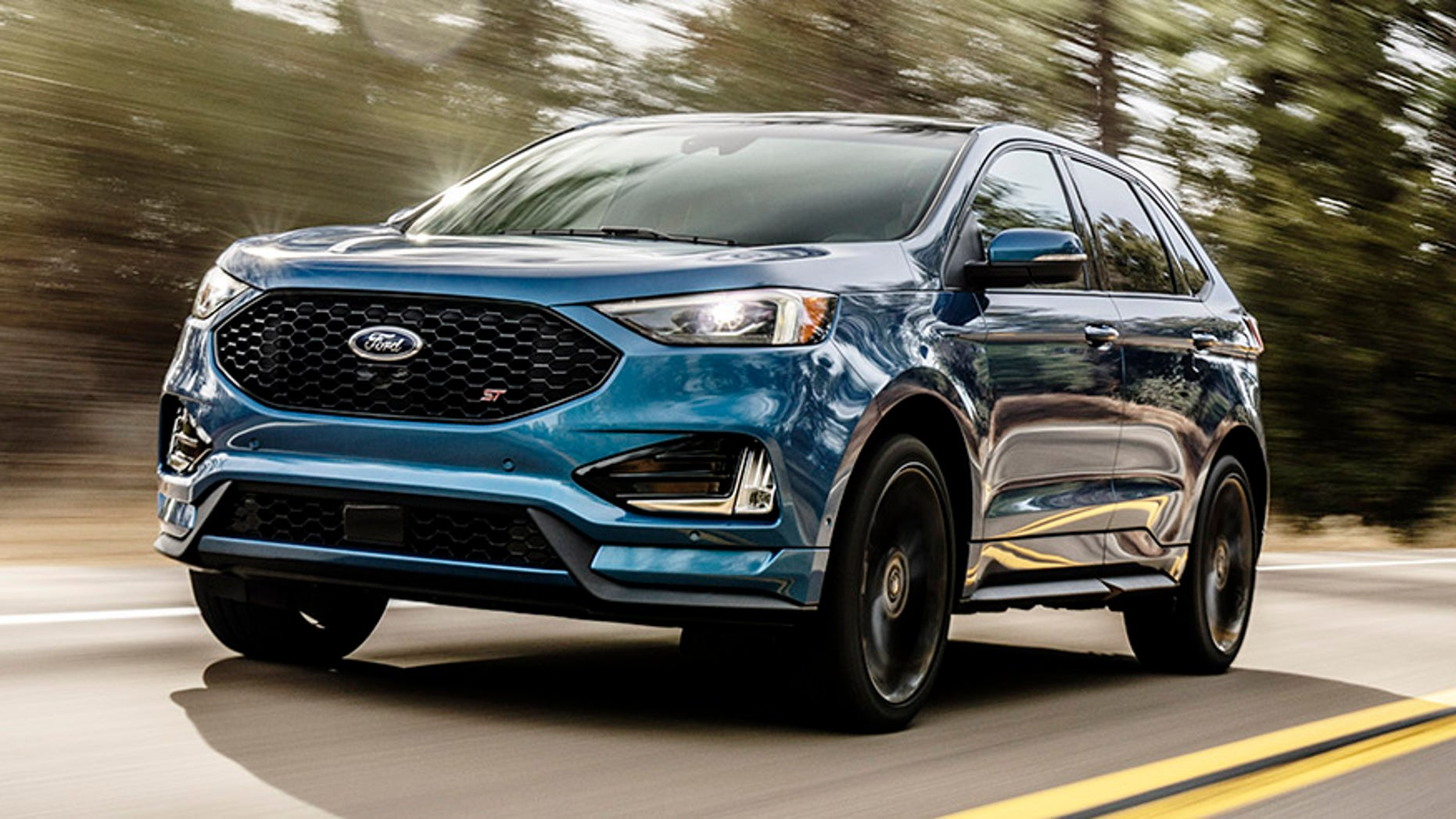 Detroit Auto Show Ford Enters Performance SUV Segment With Edge ST - Ford show car