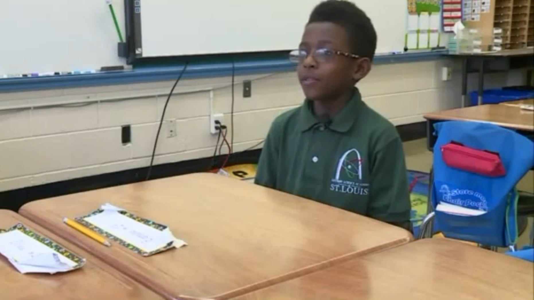 Edmund Lee at Gateway Science Academy. (Fox 2 Now)