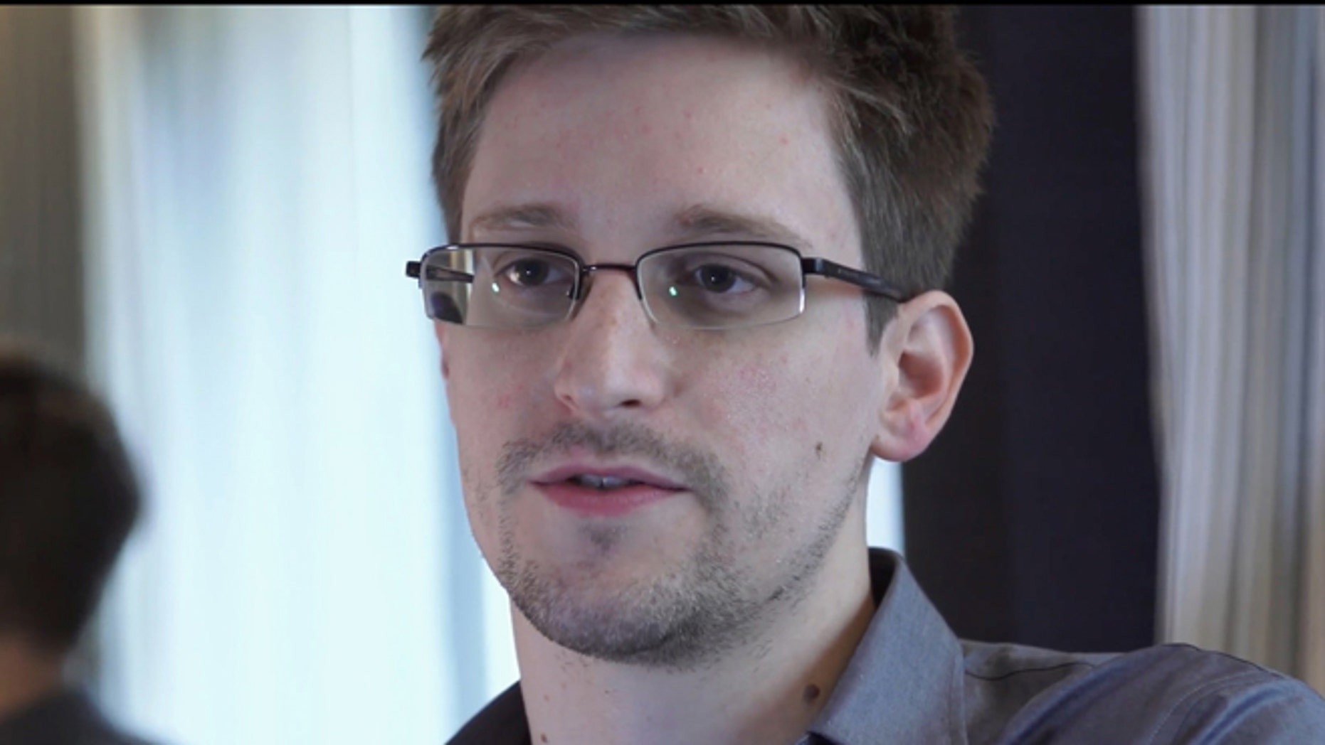 June 9, 2013: Edward Snowden, who worked as a contract employee at the National Security Agency, speaks to reporters after disclosing massive amounts of sensitive U.S. intelligence data.