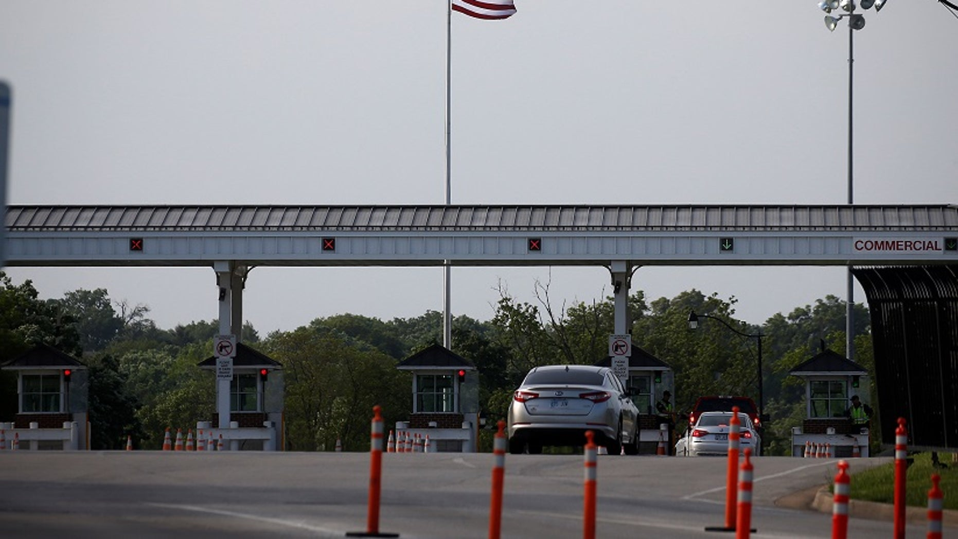 Officials told AP that the federal government is considering housing at military bases those children picked up crossing the U.S. border illegally either alone or after being separated from their parents by the government.