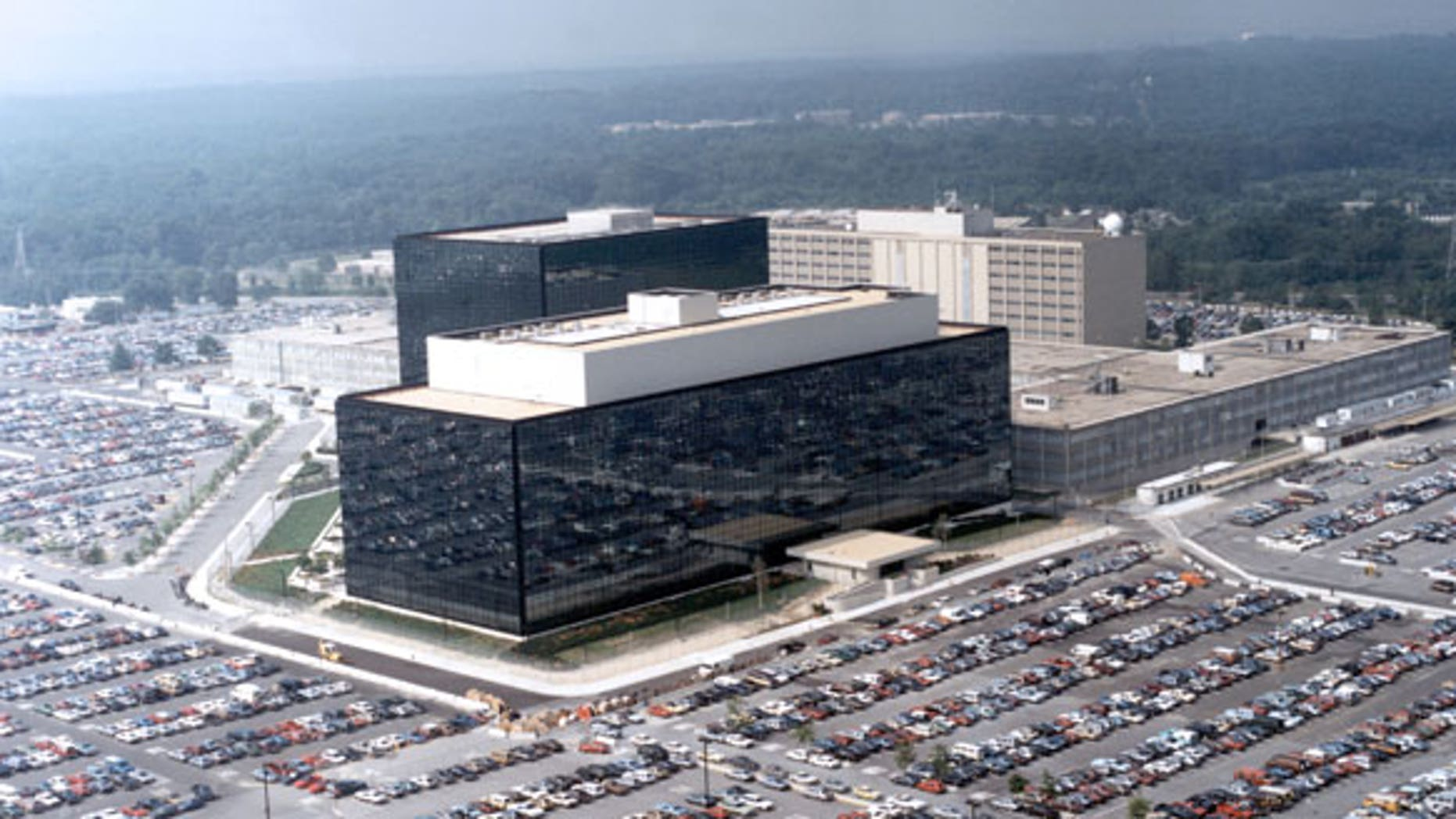 The NSA building.
