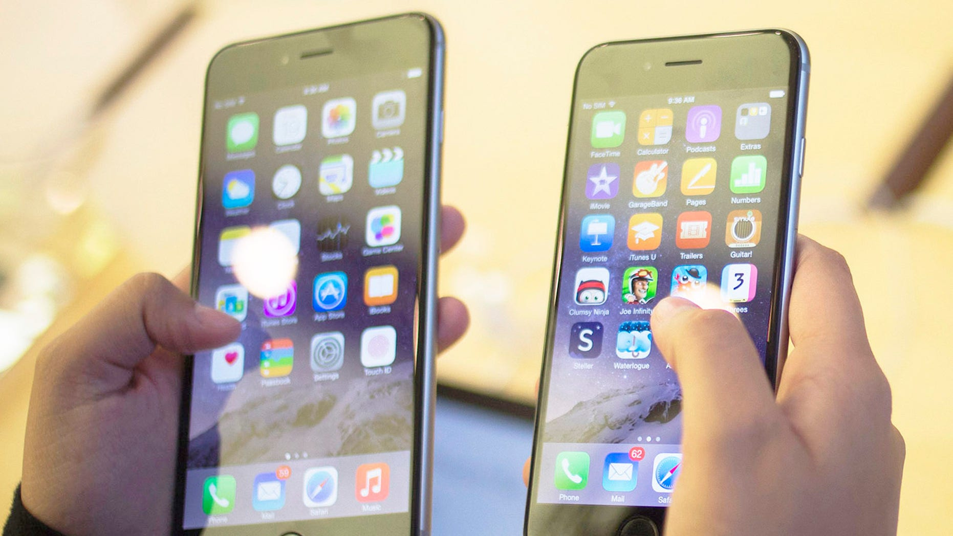 Apple's newest iPhone 6 is not acceptable currency in Buddhist temples.