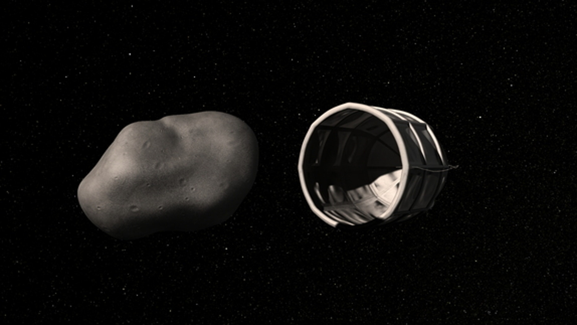 Small, water-rich near-Earth asteroids can be captured by spacecraft, allowing their resources to be extracted, officials with the new company Planetary Resources say.