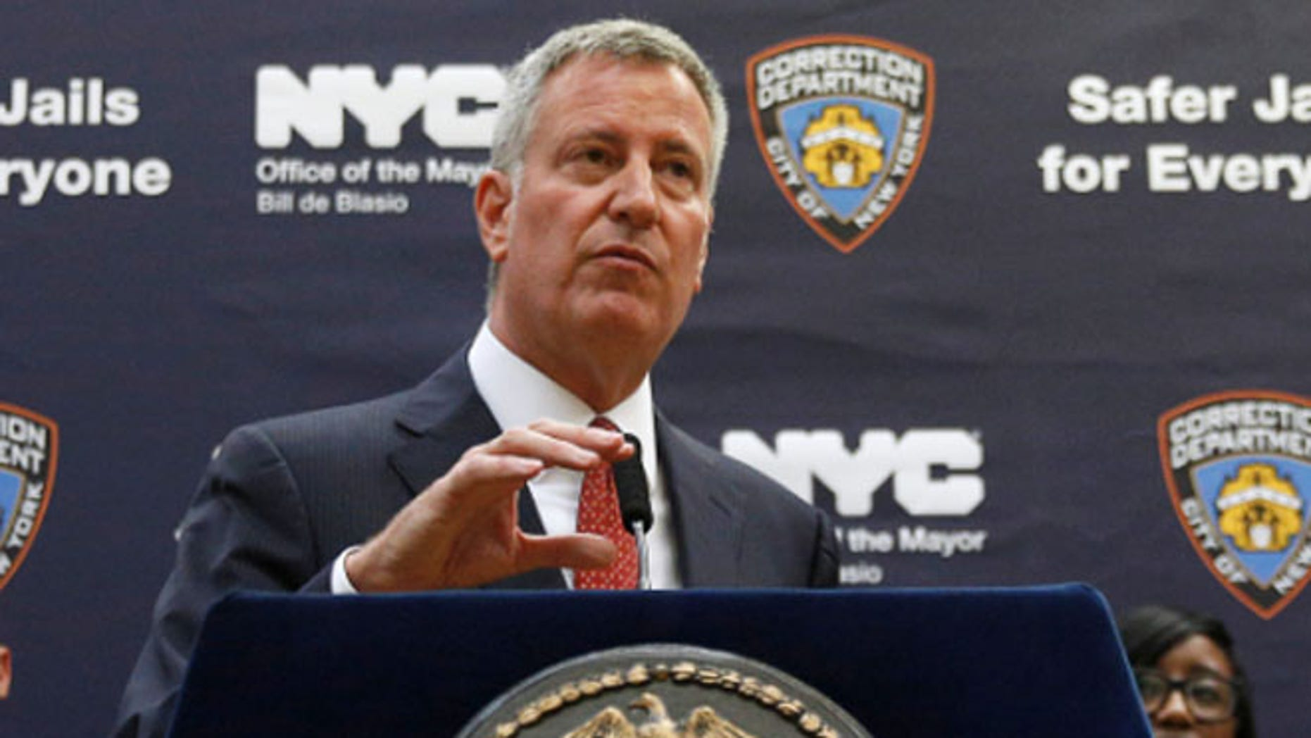 A local paper reported that Mothers Against Drunk Driving railed against Mayor Bill de Blasio's comments.