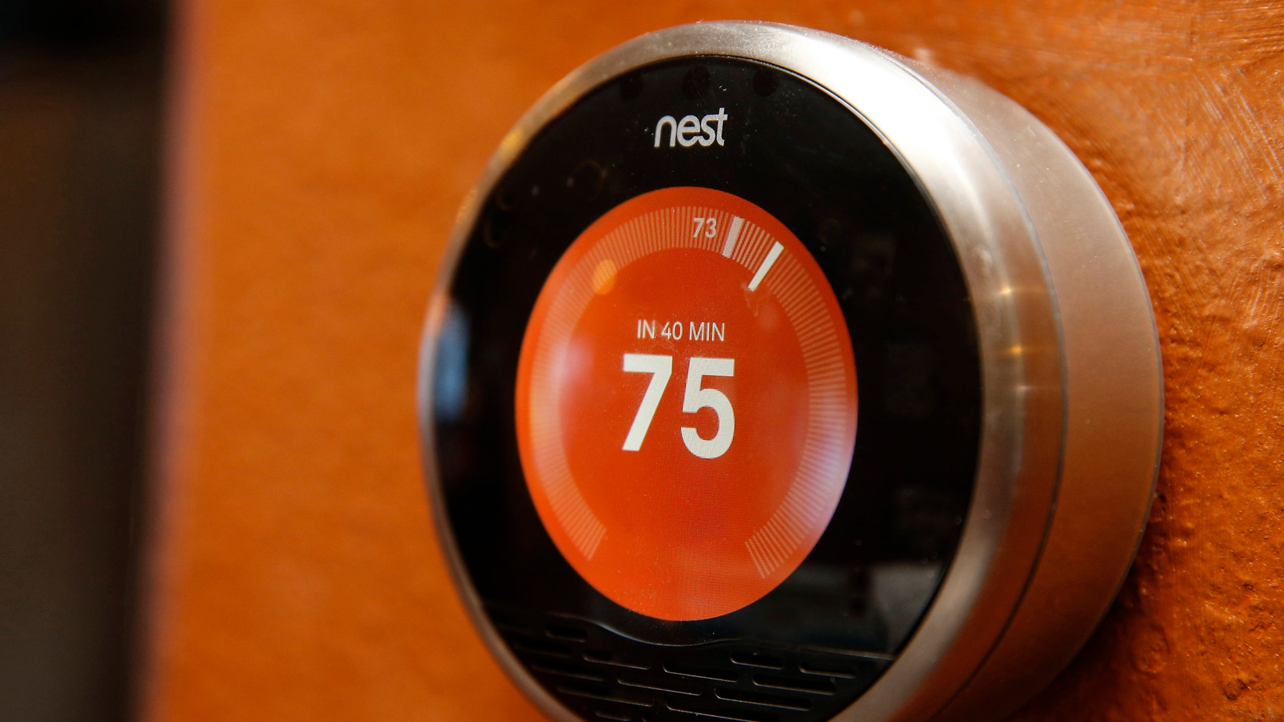 "File photo: A Nest thermostat is installed in a home in Provo, Utah, January 15, 2014. Google Inc took its biggest step to go deeper into consumers' homes, announcing a $3.2 billion deal January 13, 2014 to buy smart thermostat and smoke alarm-maker Nest Labs Inc, scooping up a promising line of products and a prized design team led by the ""godfather"" of the iPod. (REUTERS/George Frey)"