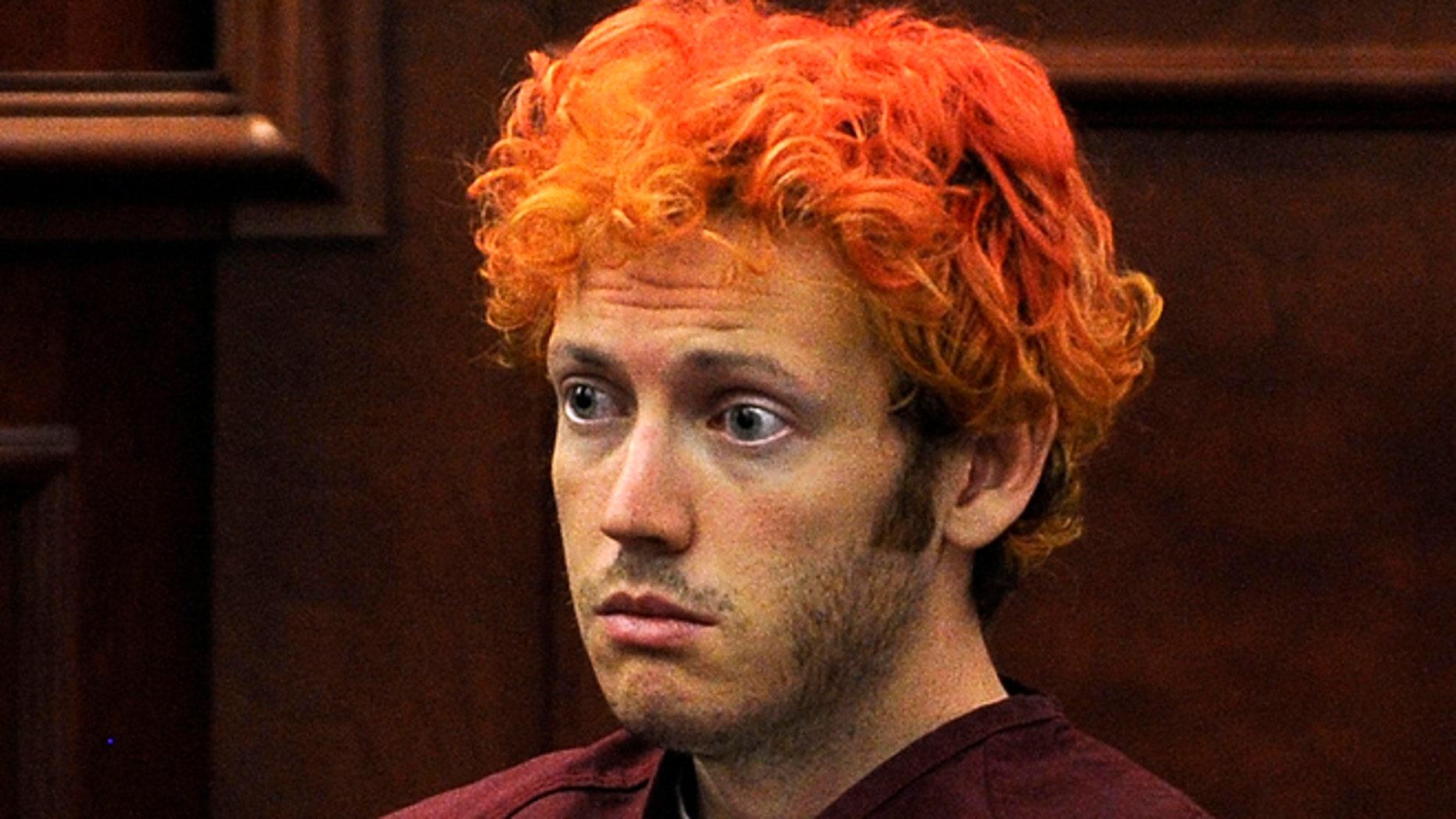 Colorado shooting suspect James Eagan Holmes is seen in this 2012 photo.