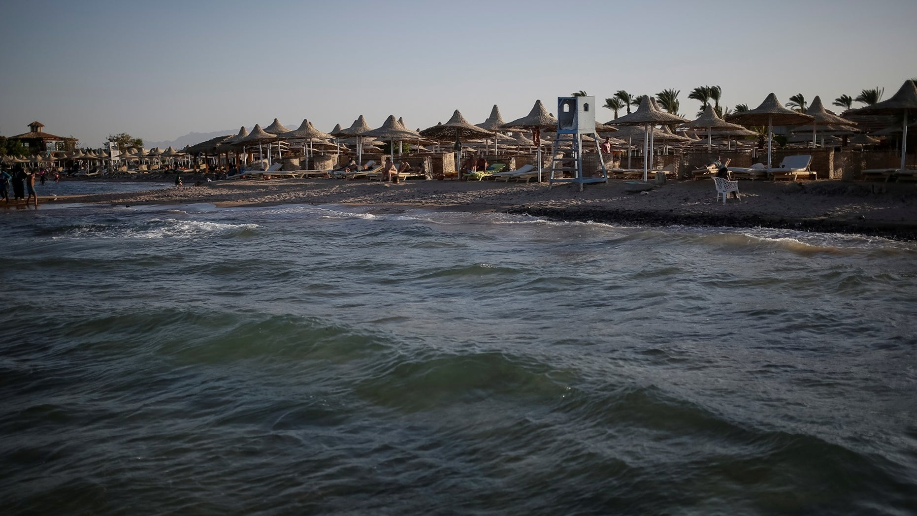A knife-wielding man went on a stabbing spree and killed two German tourists and injured four others on Friday in the Red Sea resort of Hurghada.